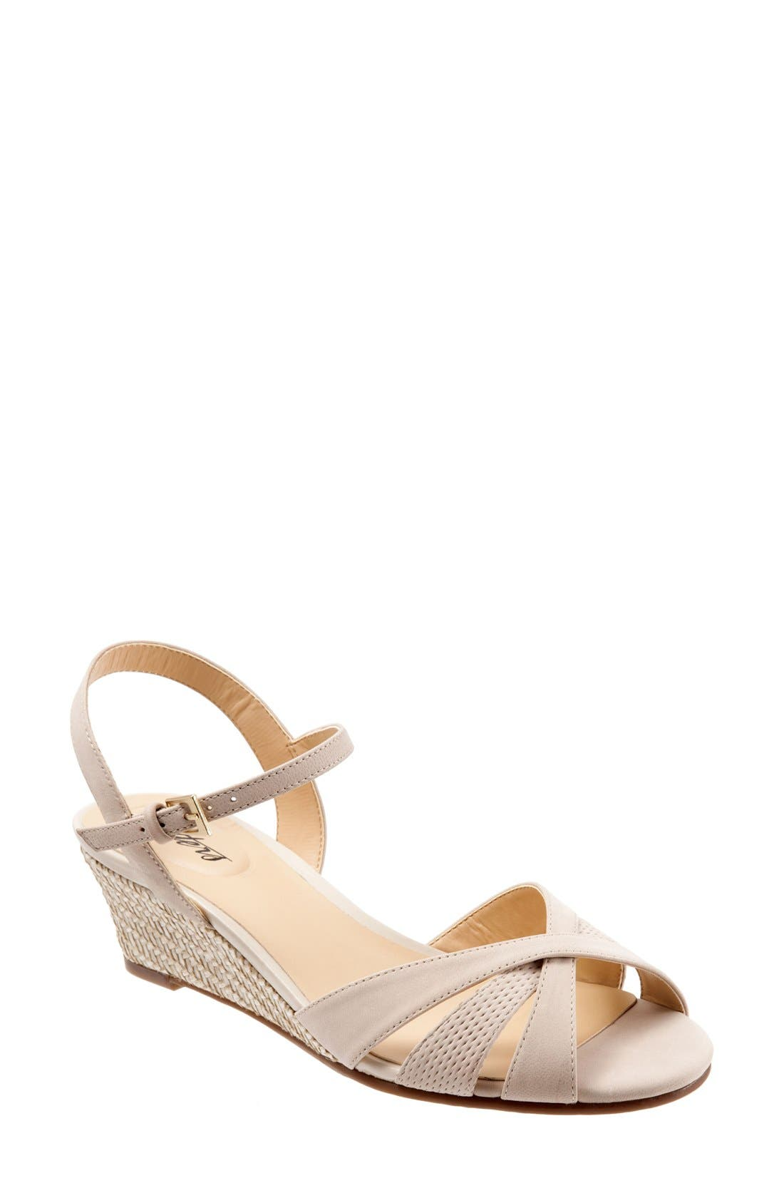 'Mickey' Wedge Sandal,                             Main thumbnail 7, color,