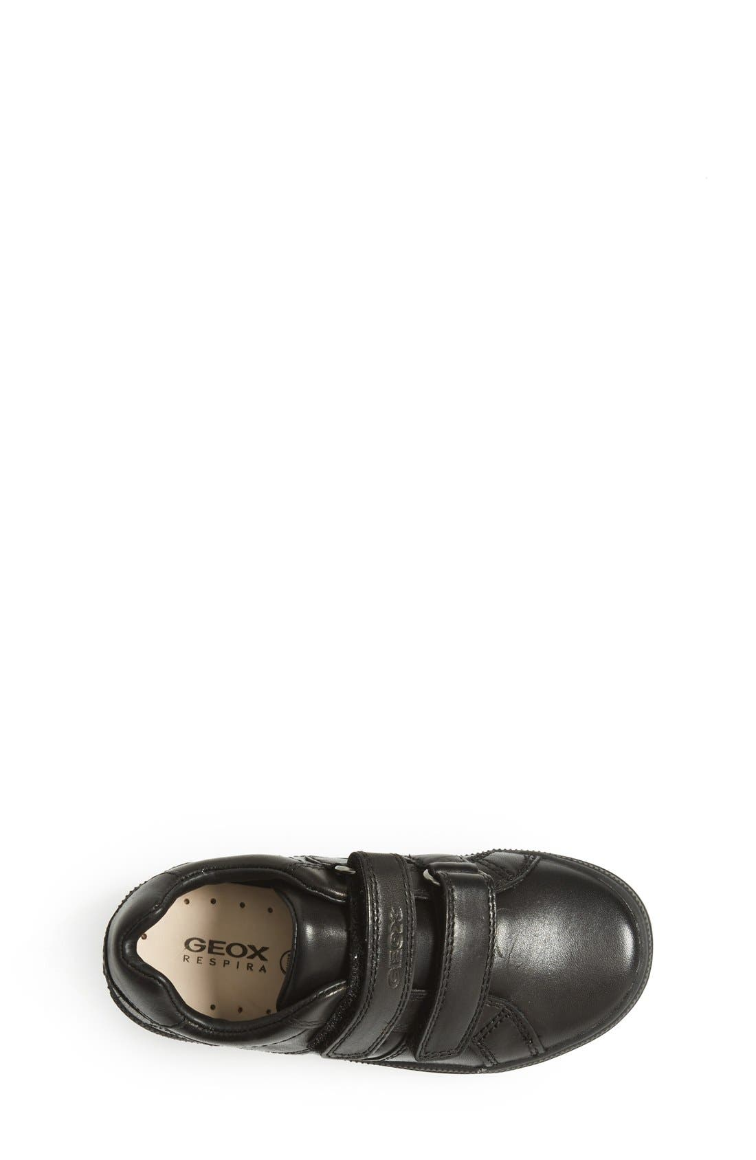 GEOX,                             Elvis 25 Sneaker,                             Alternate thumbnail 3, color,                             BLACK