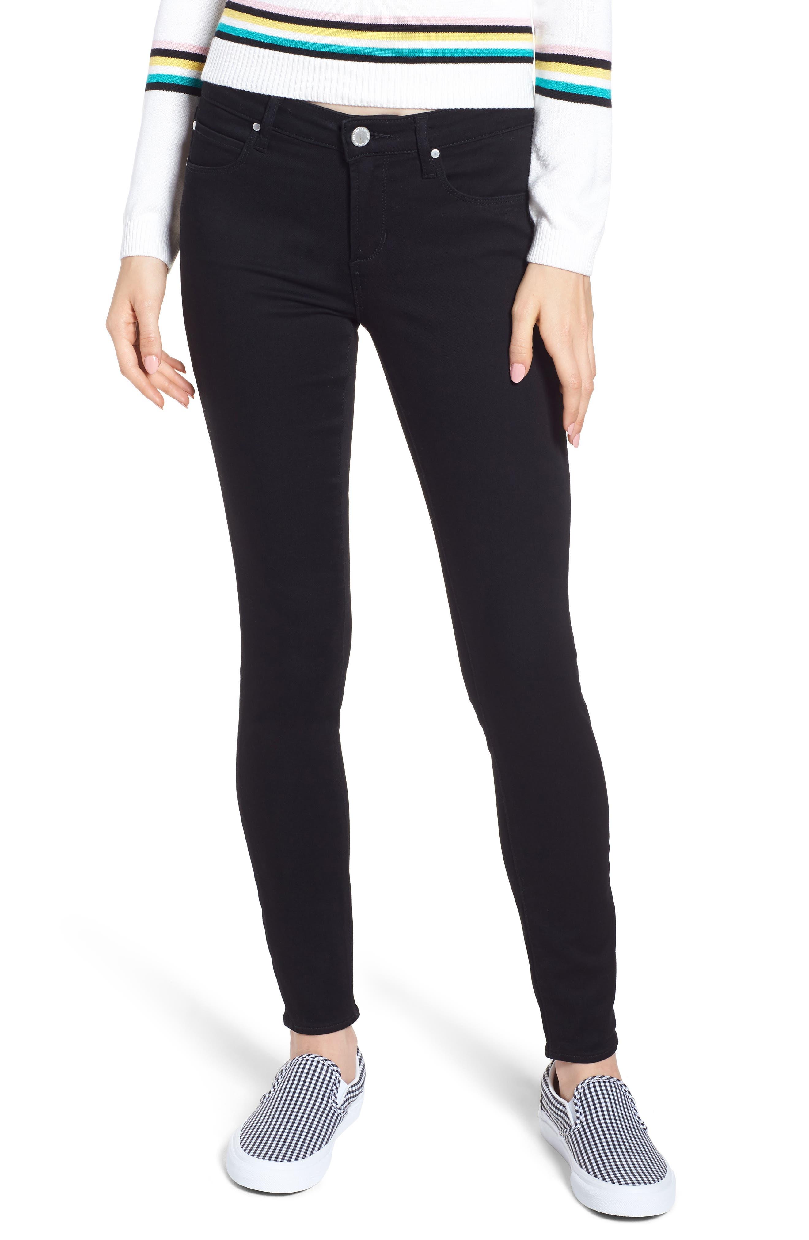 Sarah Skinny Jeans,                         Main,                         color, MACON