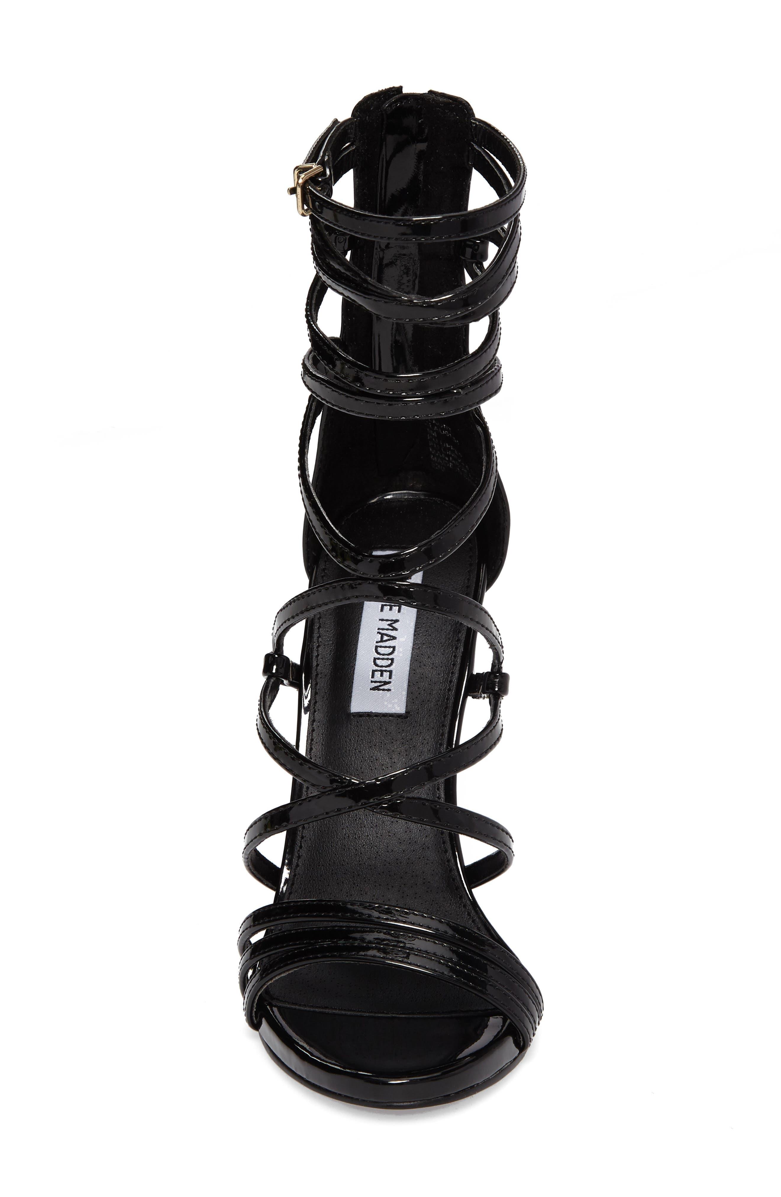Flaunt Gladiator Sandal,                             Alternate thumbnail 4, color,                             008