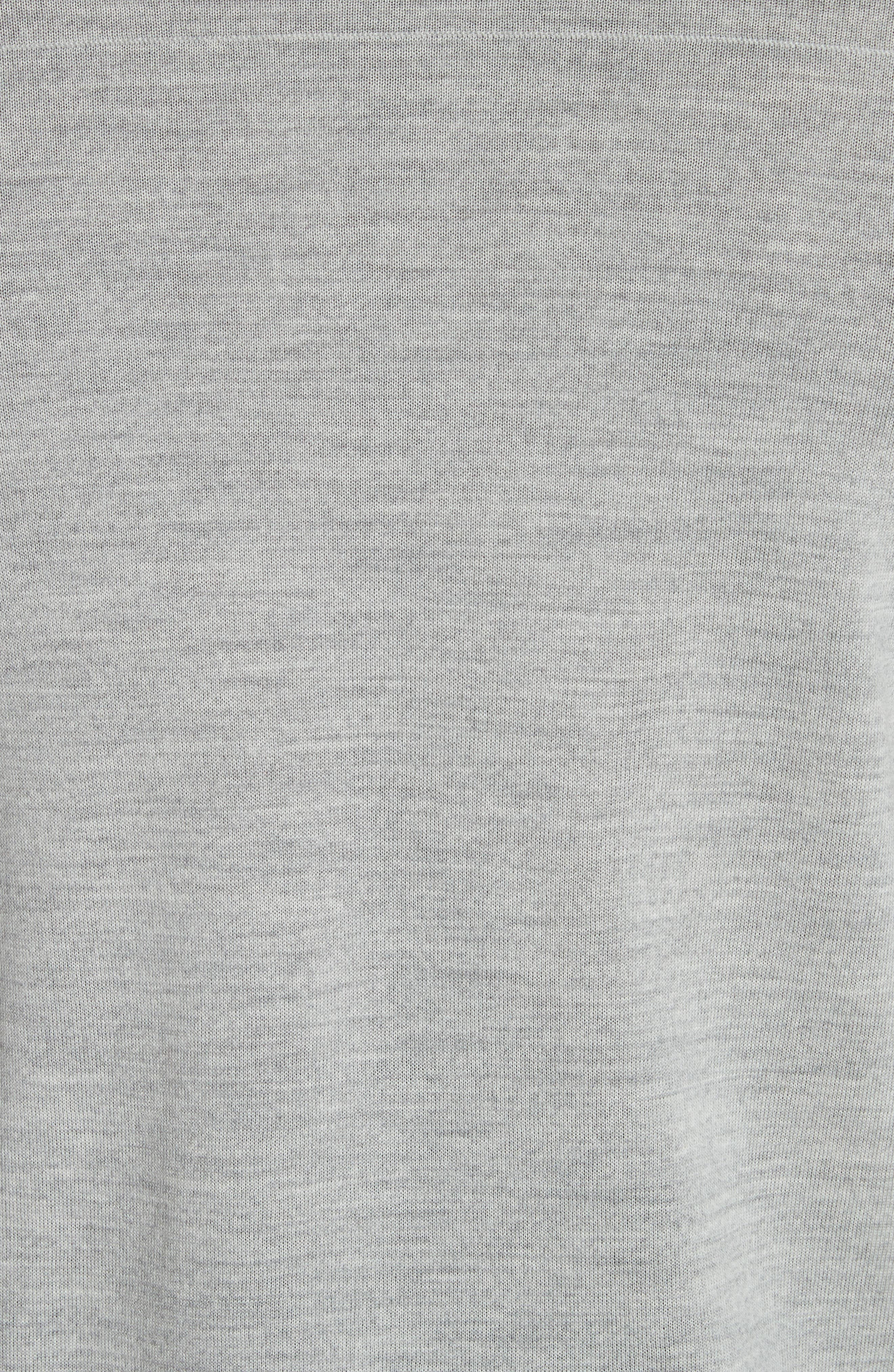 Nino Crewneck Wool Sweater,                             Alternate thumbnail 5, color,                             020