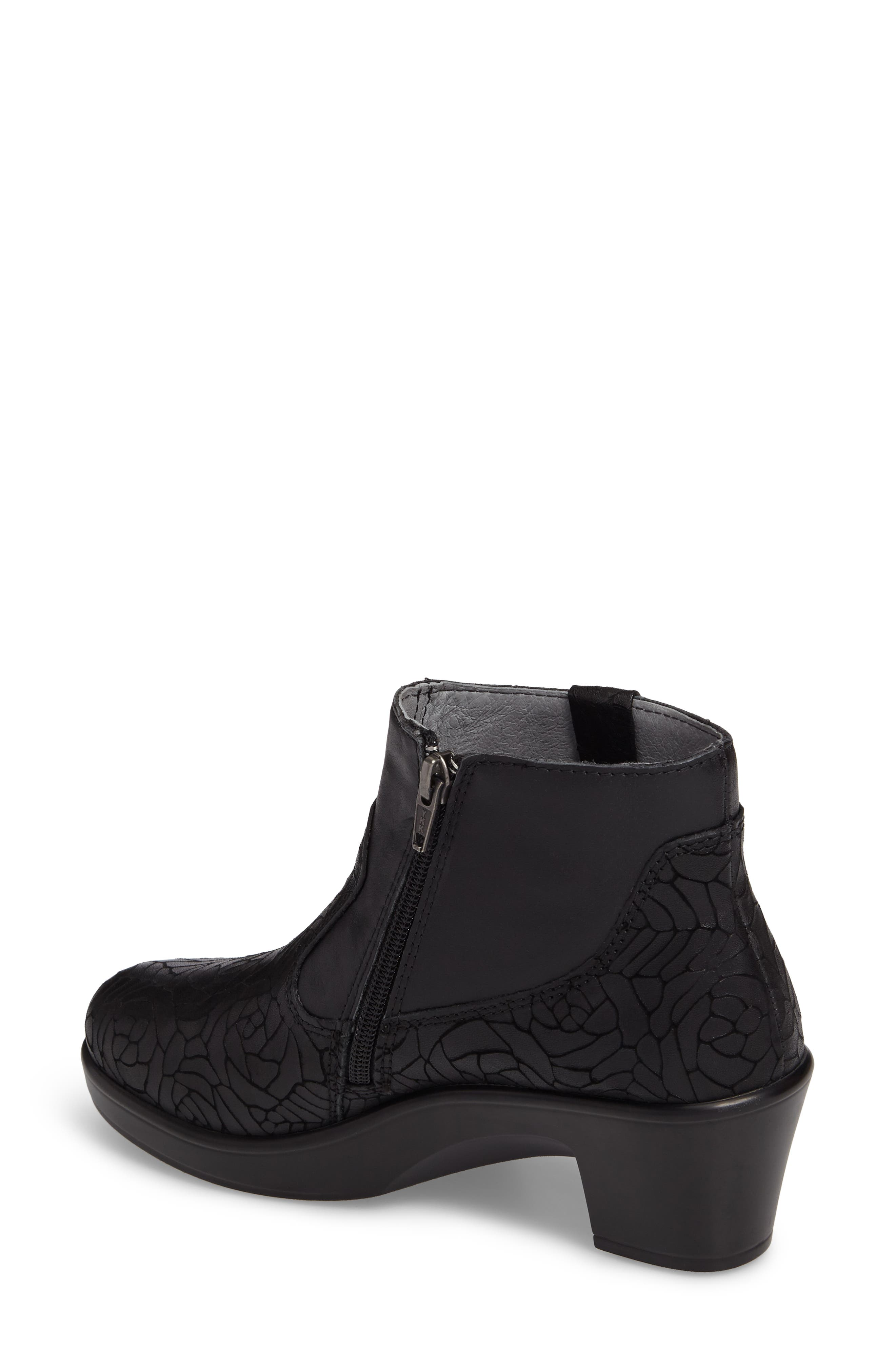 Hayden Bootie,                             Alternate thumbnail 2, color,                             FLORAL NOTES LEATHER