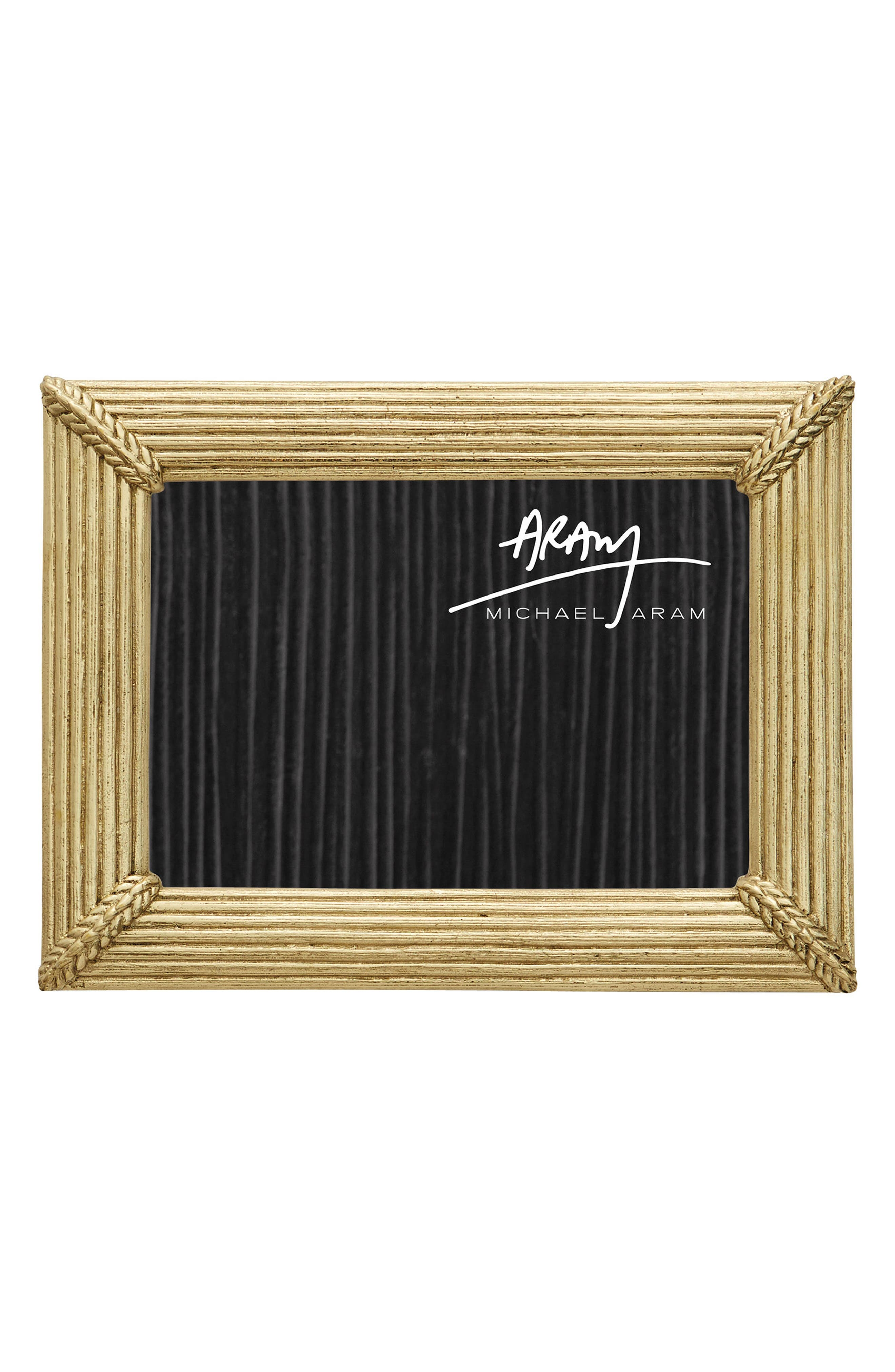 Wheat Picture Frame,                             Main thumbnail 1, color,                             GOLD