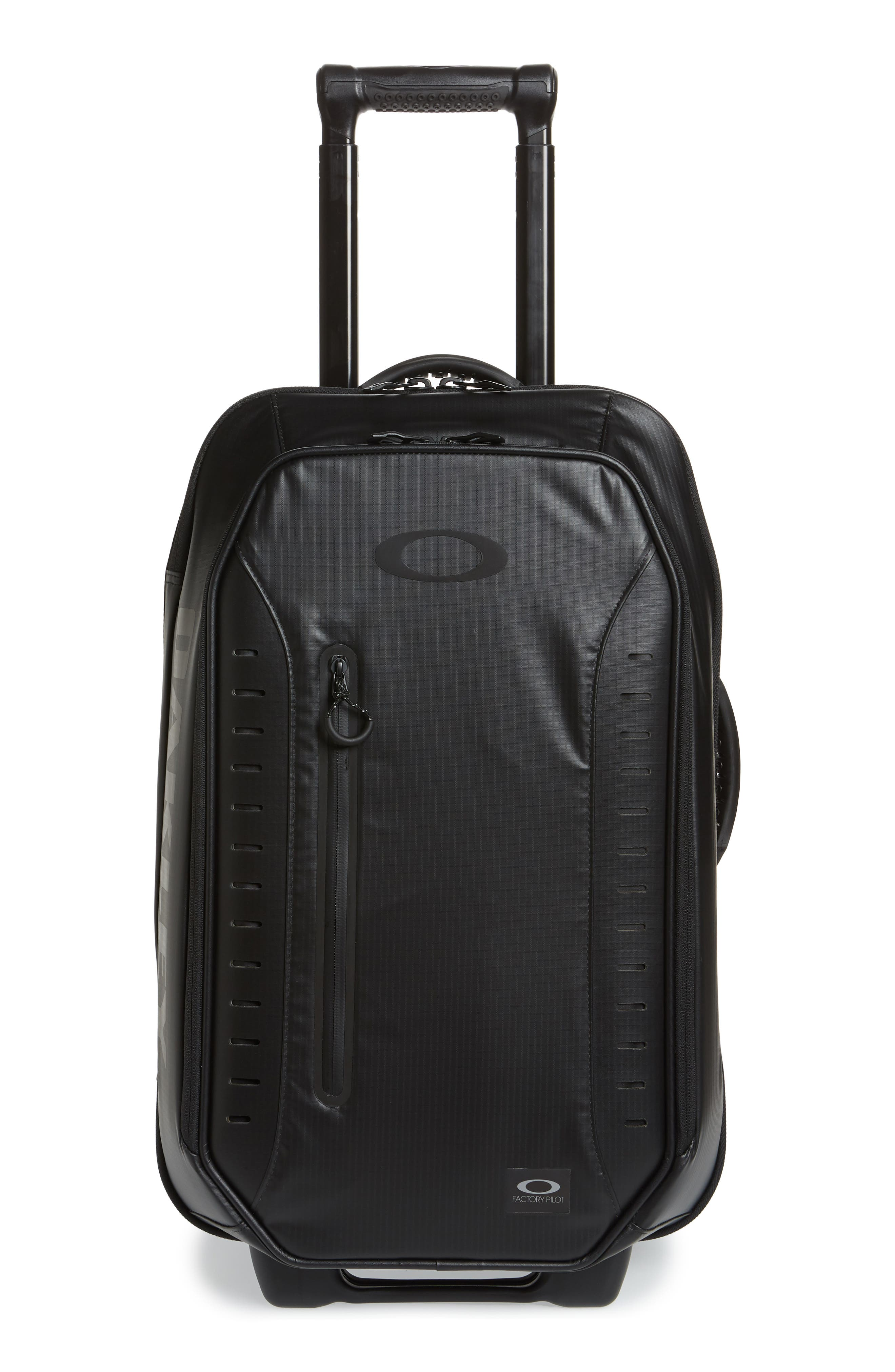 OAKLEY FP 45L Rolling Duffel Carry-On, Main, color, 001
