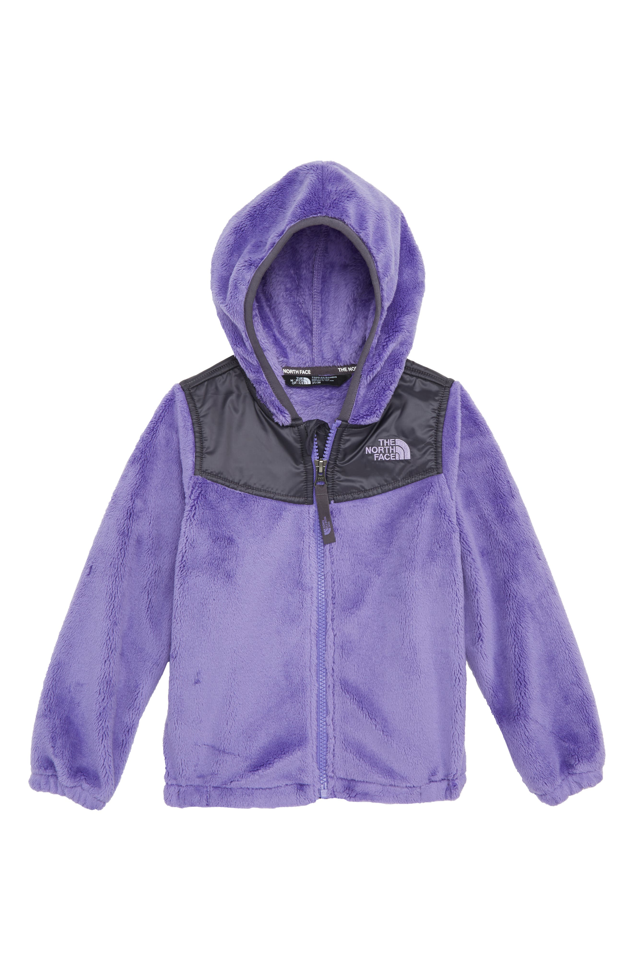 Oso Zip Fleece Hoodie,                             Main thumbnail 1, color,                             DAHLIA PURPLE