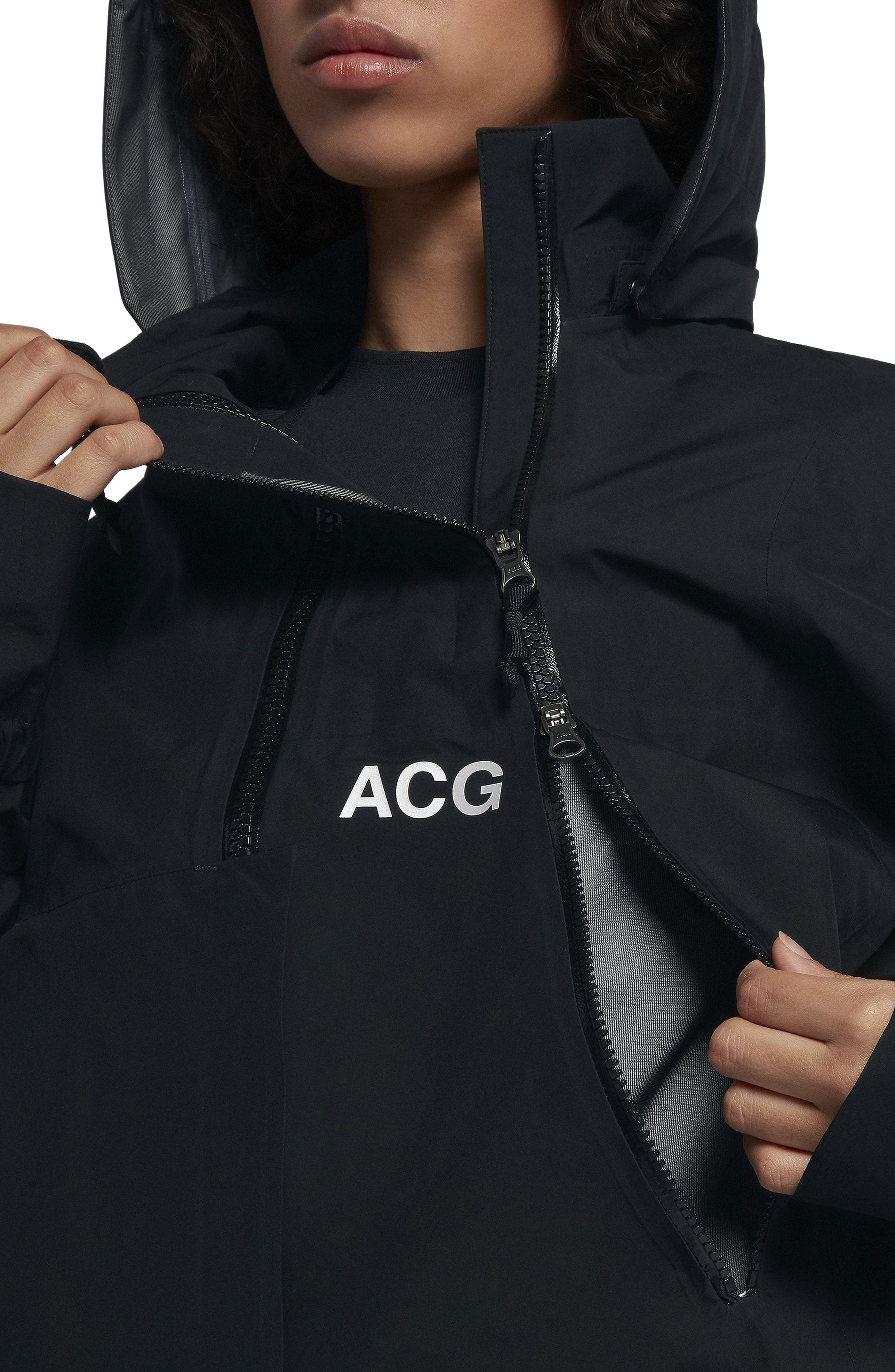 NikeLab ACG Gore-Tex<sup>®</sup> Women's Jacket,                             Alternate thumbnail 5, color,                             010