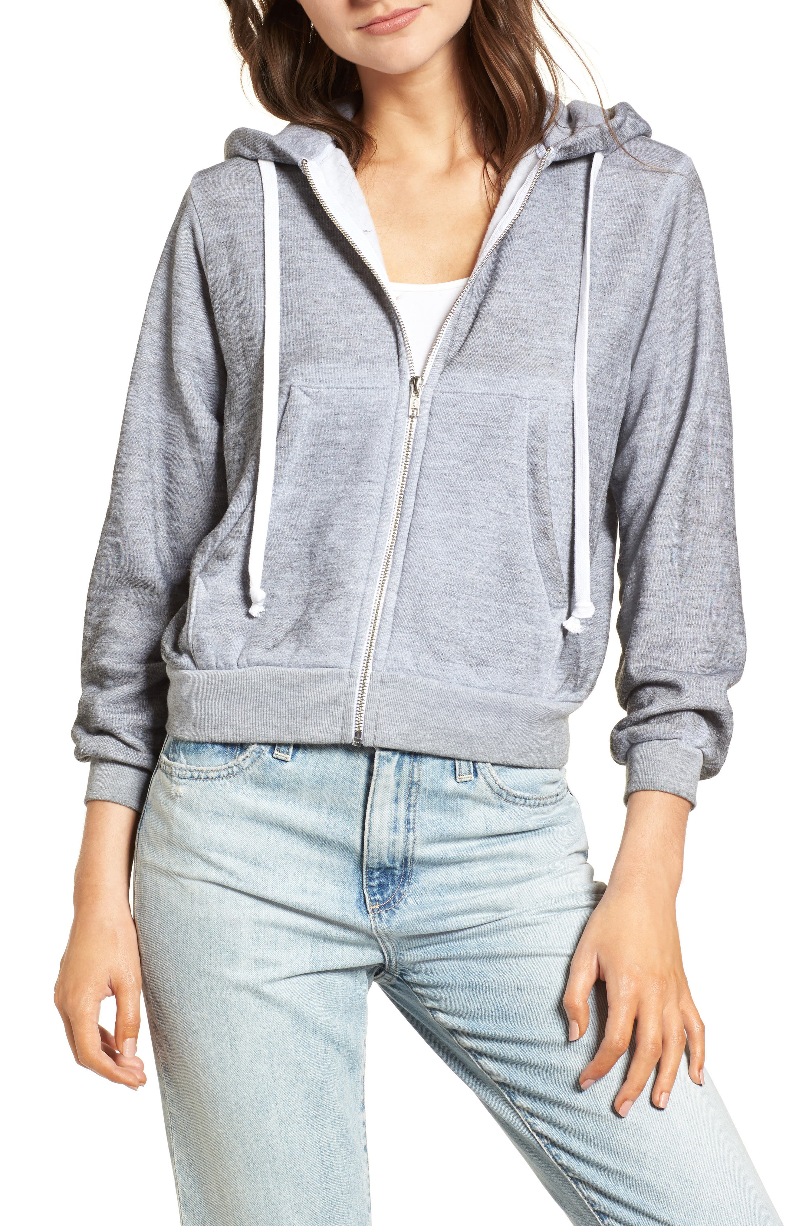Regan Feminist Hero Zip Hoodie,                         Main,                         color, 020