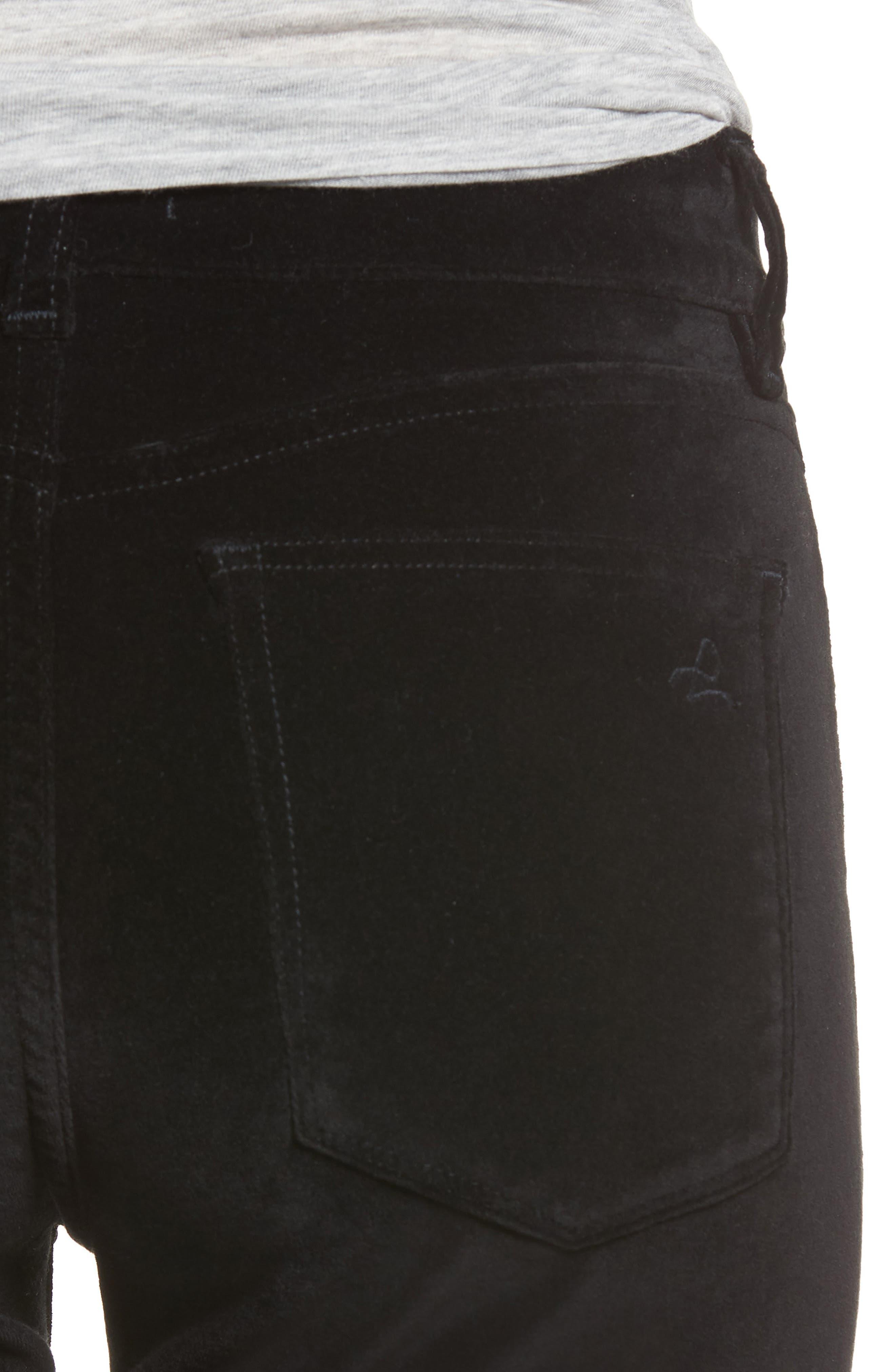 Margaux Instasculpt Ankle Skinny Jeans,                             Alternate thumbnail 4, color,                             001