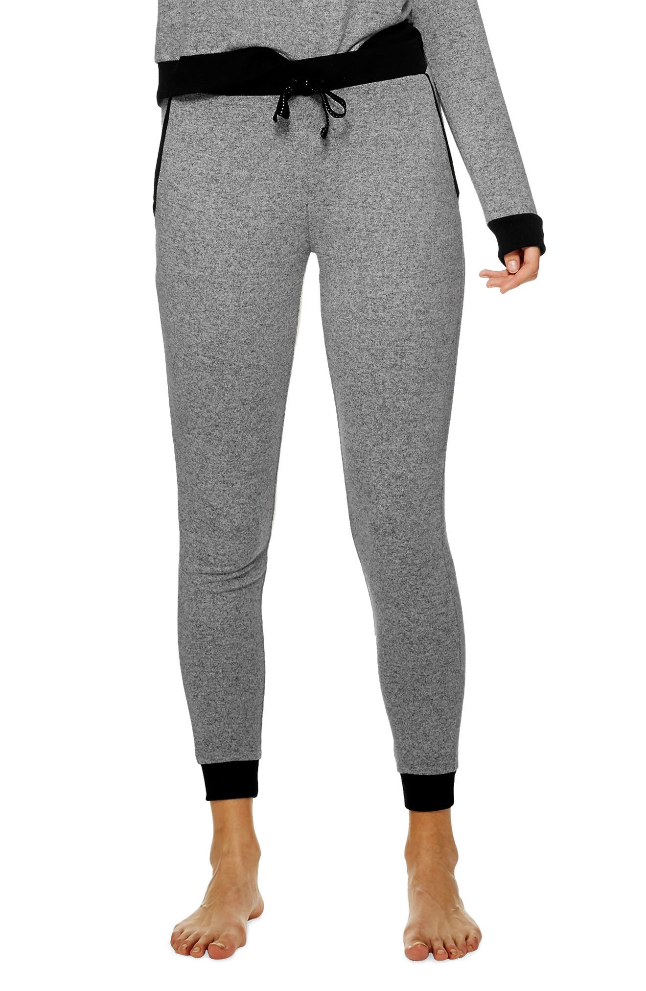 Supersoft Jogger Pants,                         Main,                         color, GREY MARL