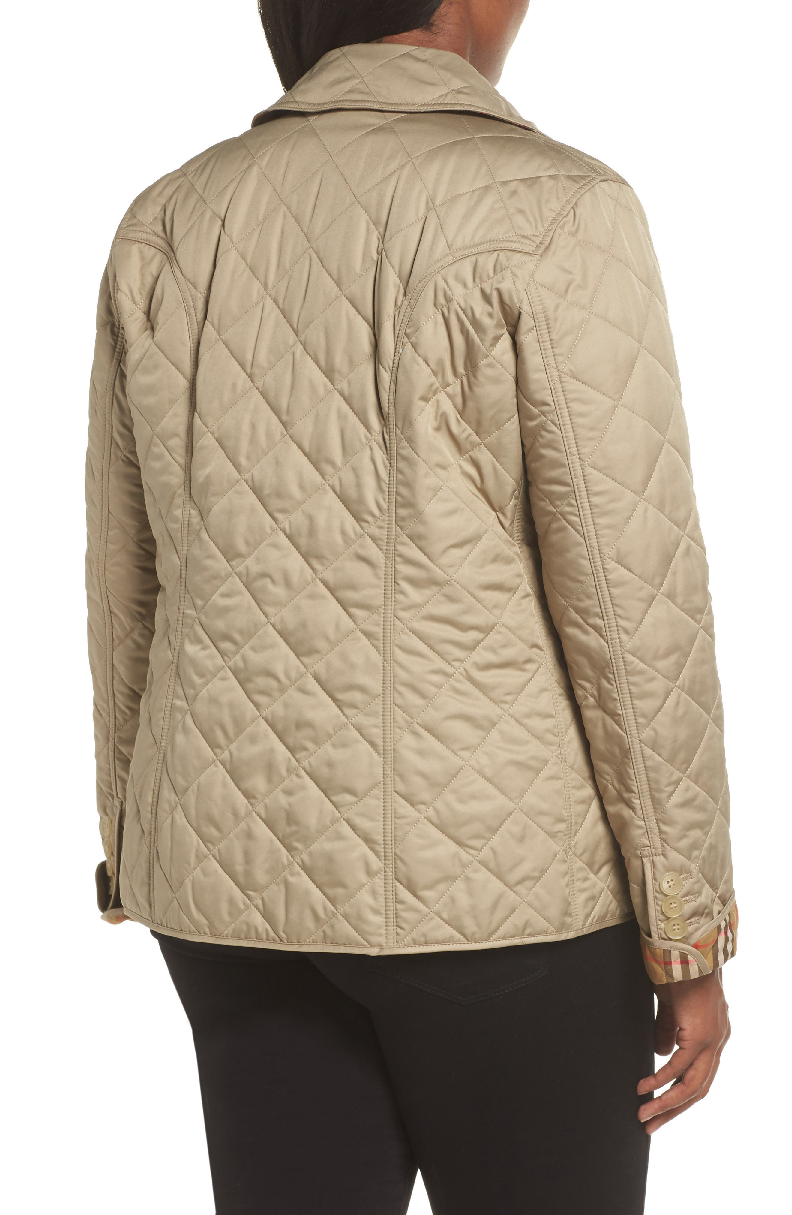 Frankby 18 Quilted Jacket,                             Alternate thumbnail 7, color,                             CANVAS