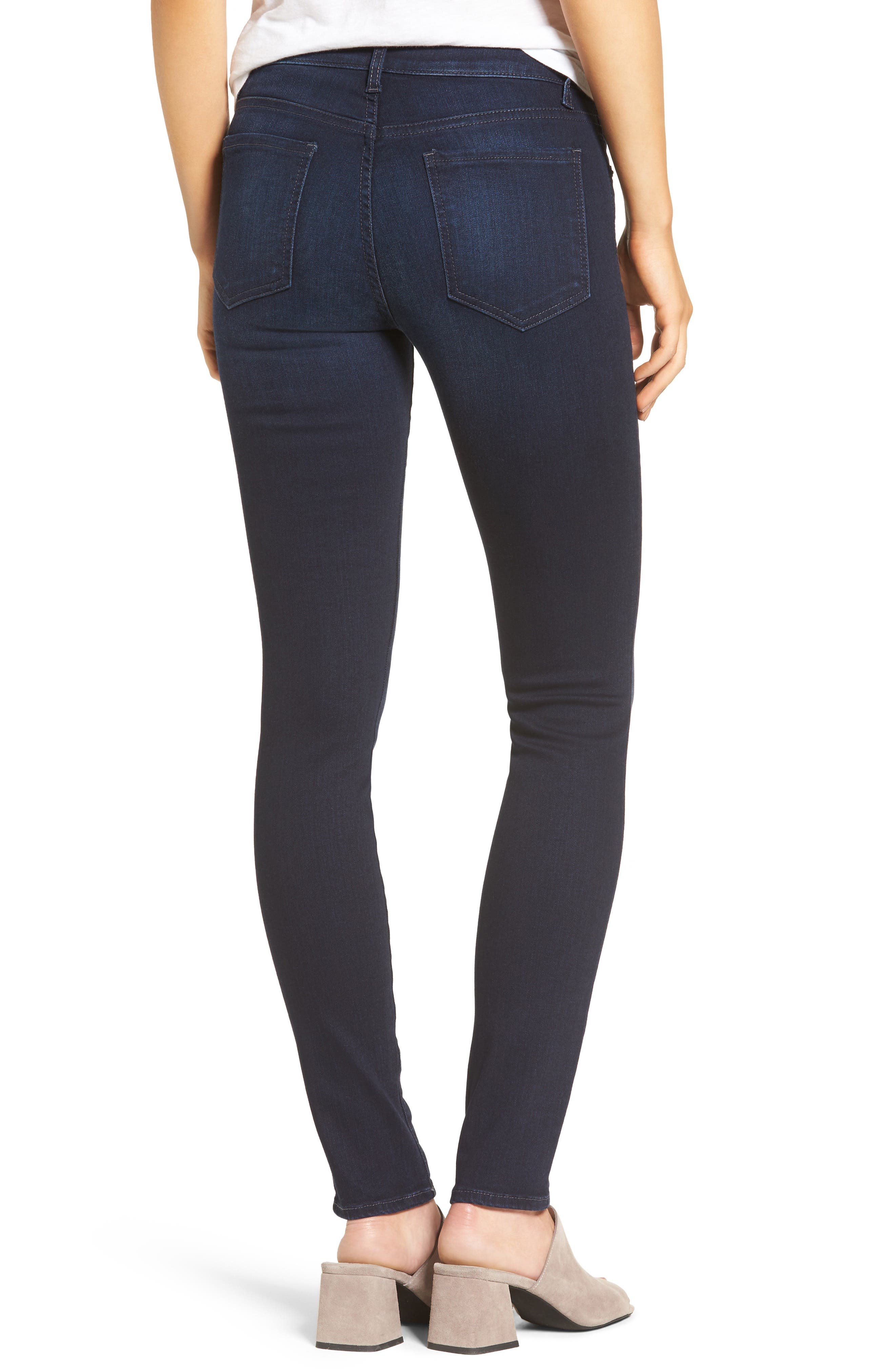 Diana Stretch Skinny Jeans,                             Alternate thumbnail 2, color,                             490