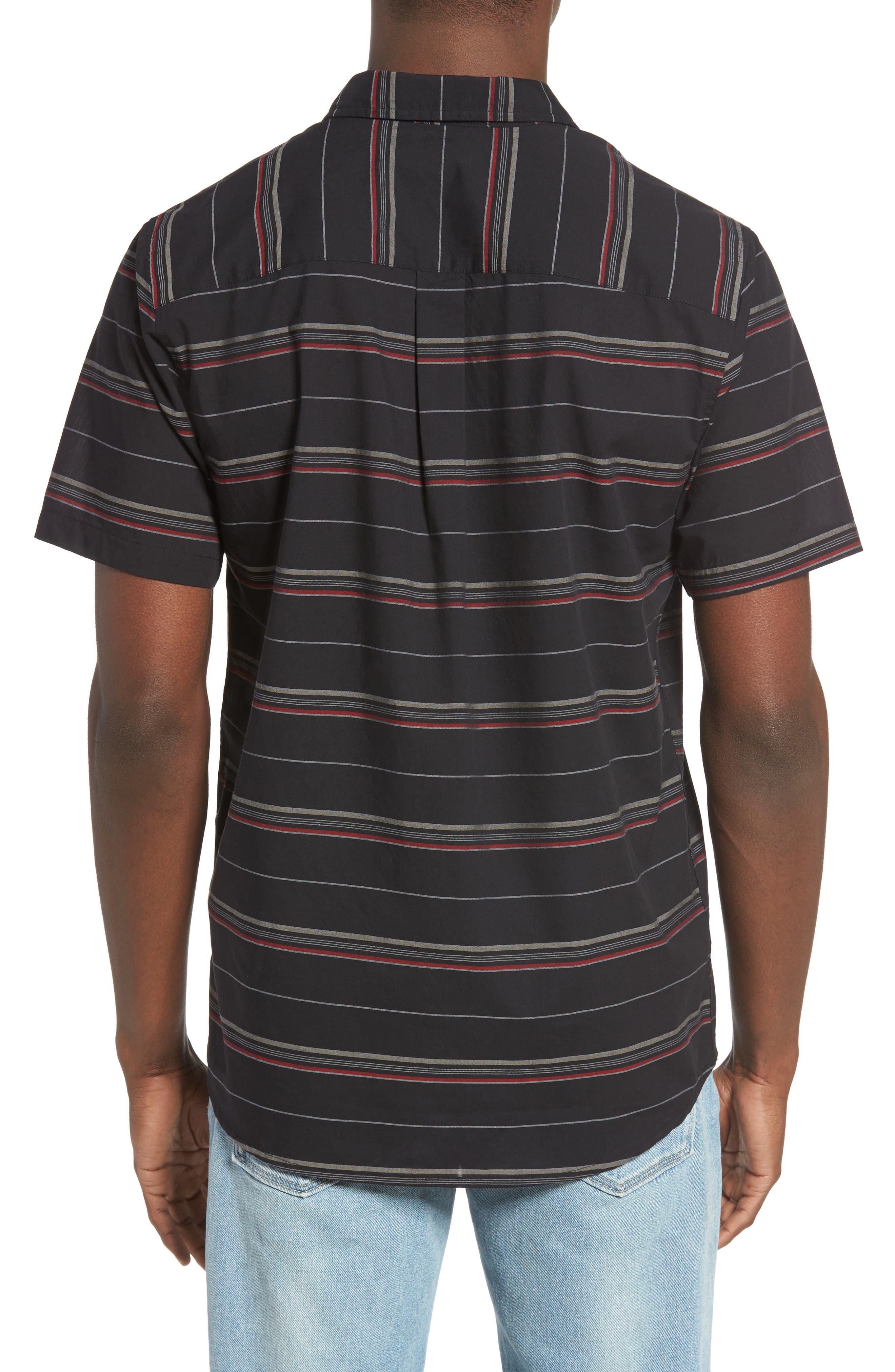 Striped Woven Shirt,                             Alternate thumbnail 5, color,