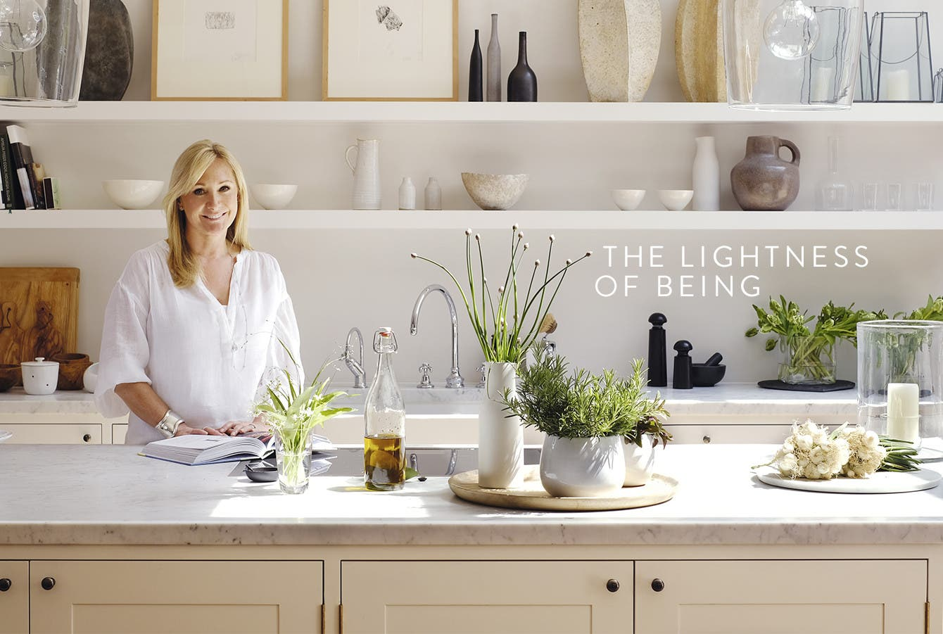 Chrissie Rucker, founder of lifestyle brand The White Company