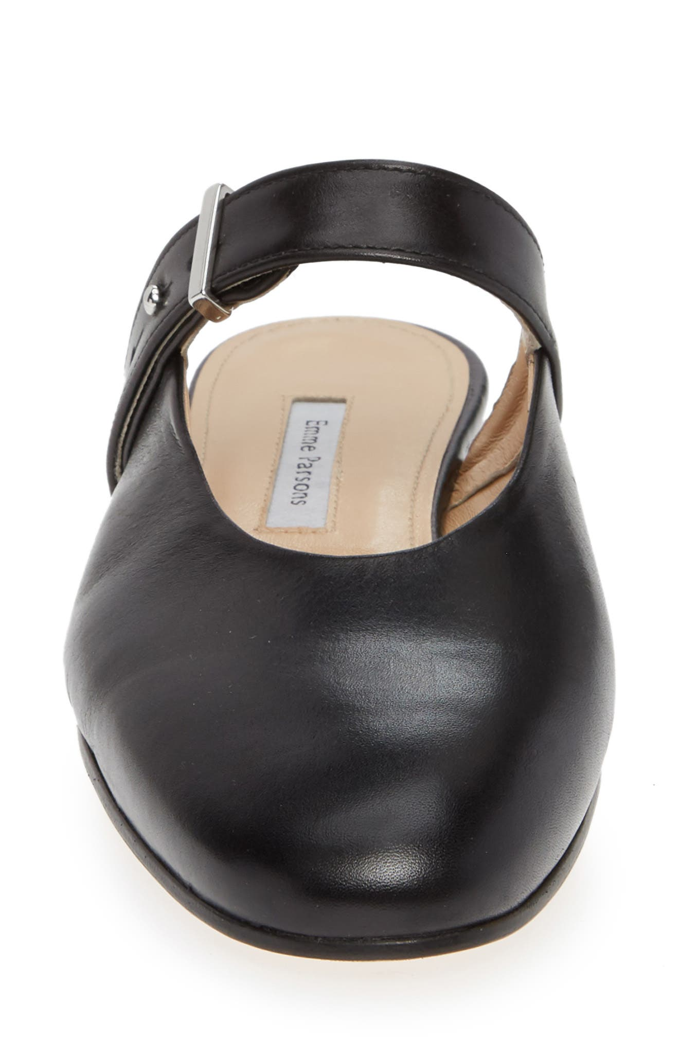 Certo Mary Jane Mule,                             Alternate thumbnail 4, color,                             BLACK LEATHER