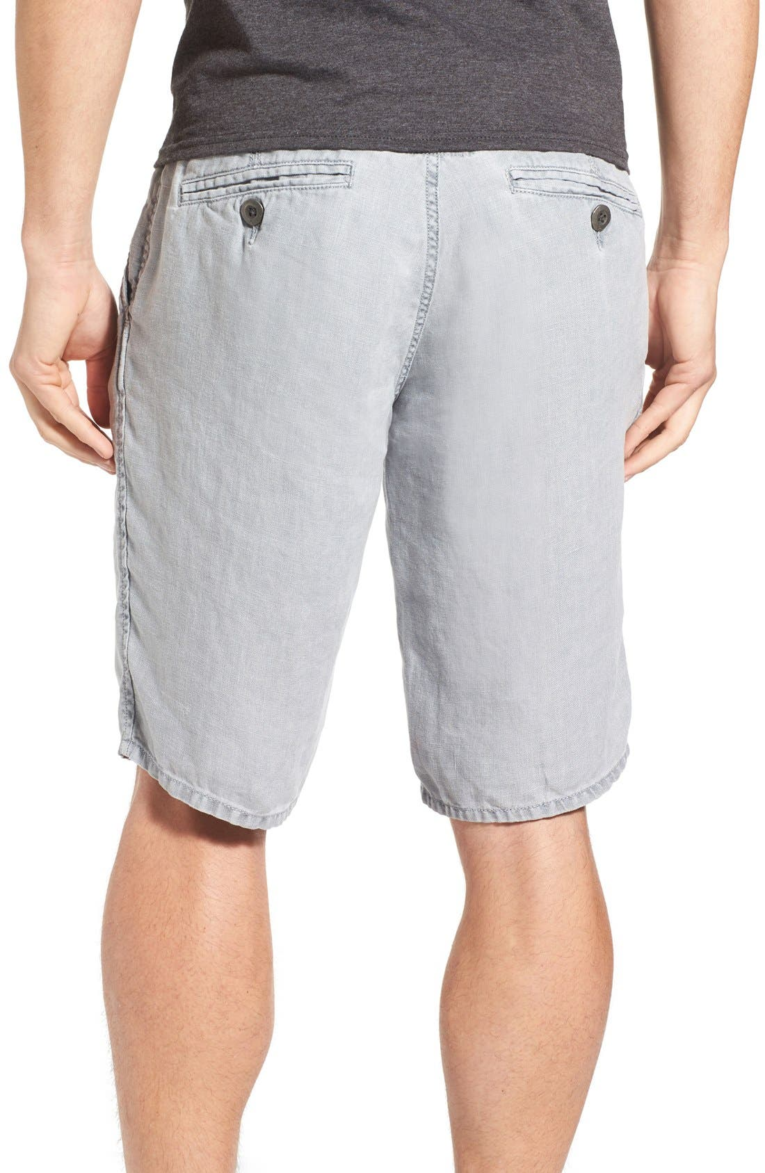 'Havana' Linen Shorts,                             Alternate thumbnail 20, color,