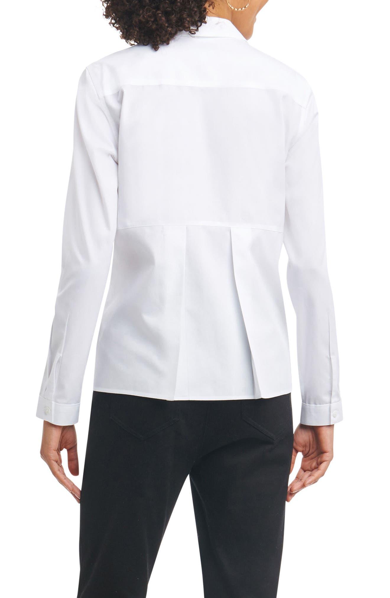 Non-Iron Shirt,                             Alternate thumbnail 2, color,                             100