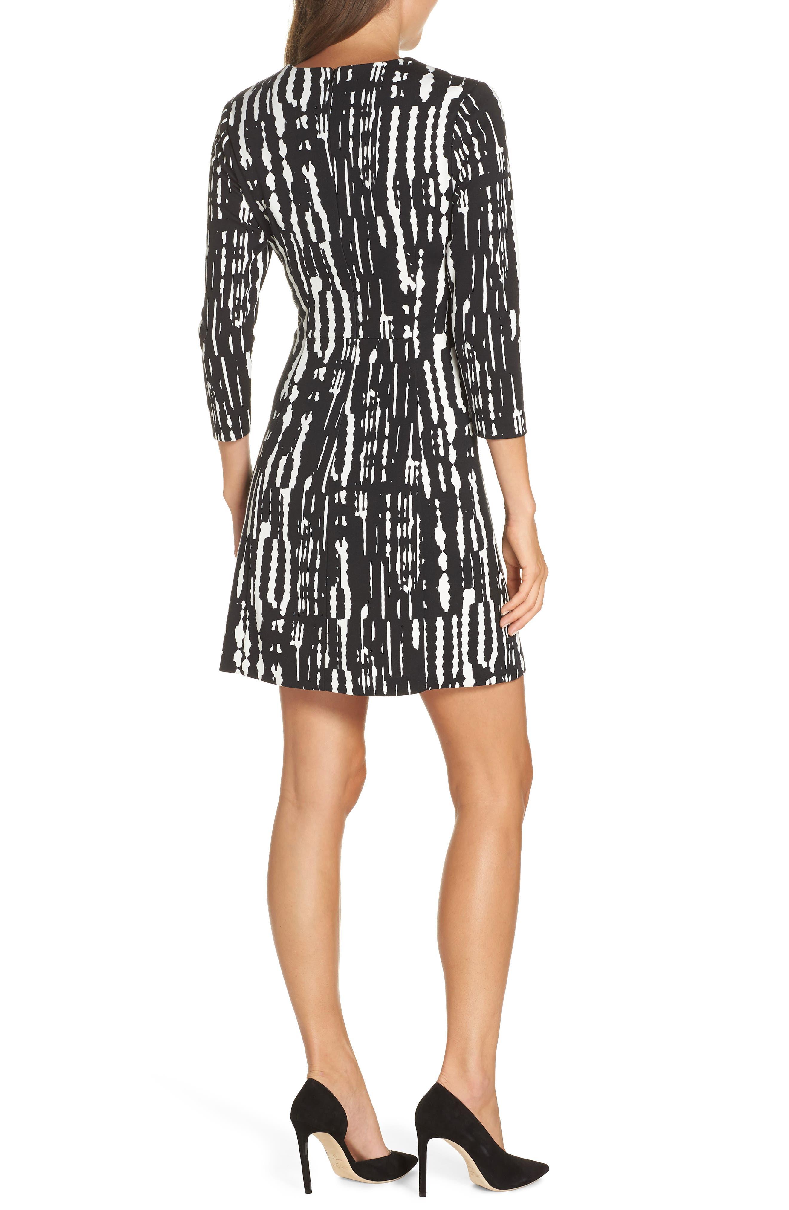 Leoti Morelia Stripe Dress,                             Alternate thumbnail 2, color,                             001