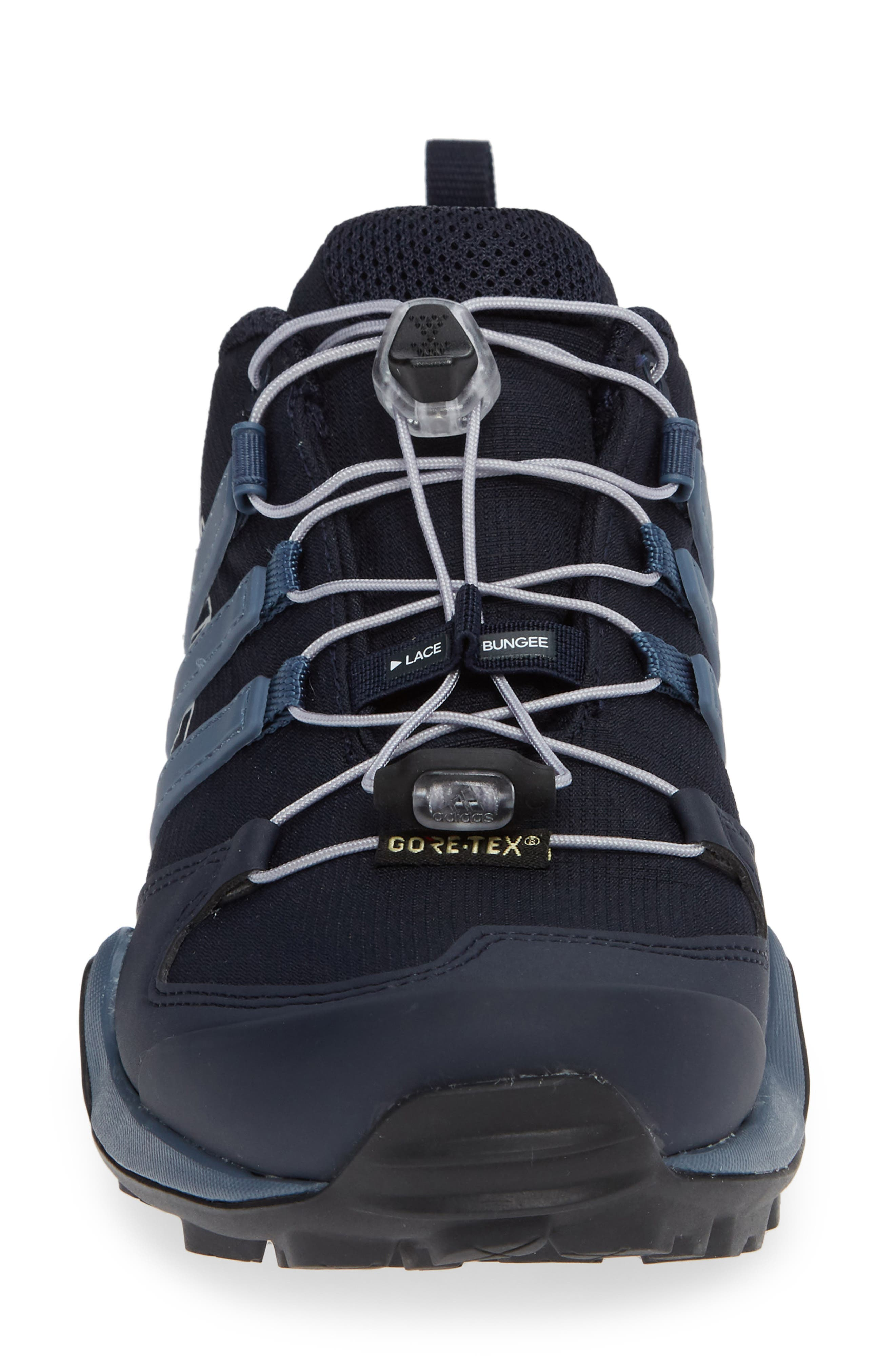 Terrex Swift R2 Gore-Tex<sup>®</sup> Hiking Shoe,                             Alternate thumbnail 4, color,                             LEGEND INK/ TECH INK/ GREY