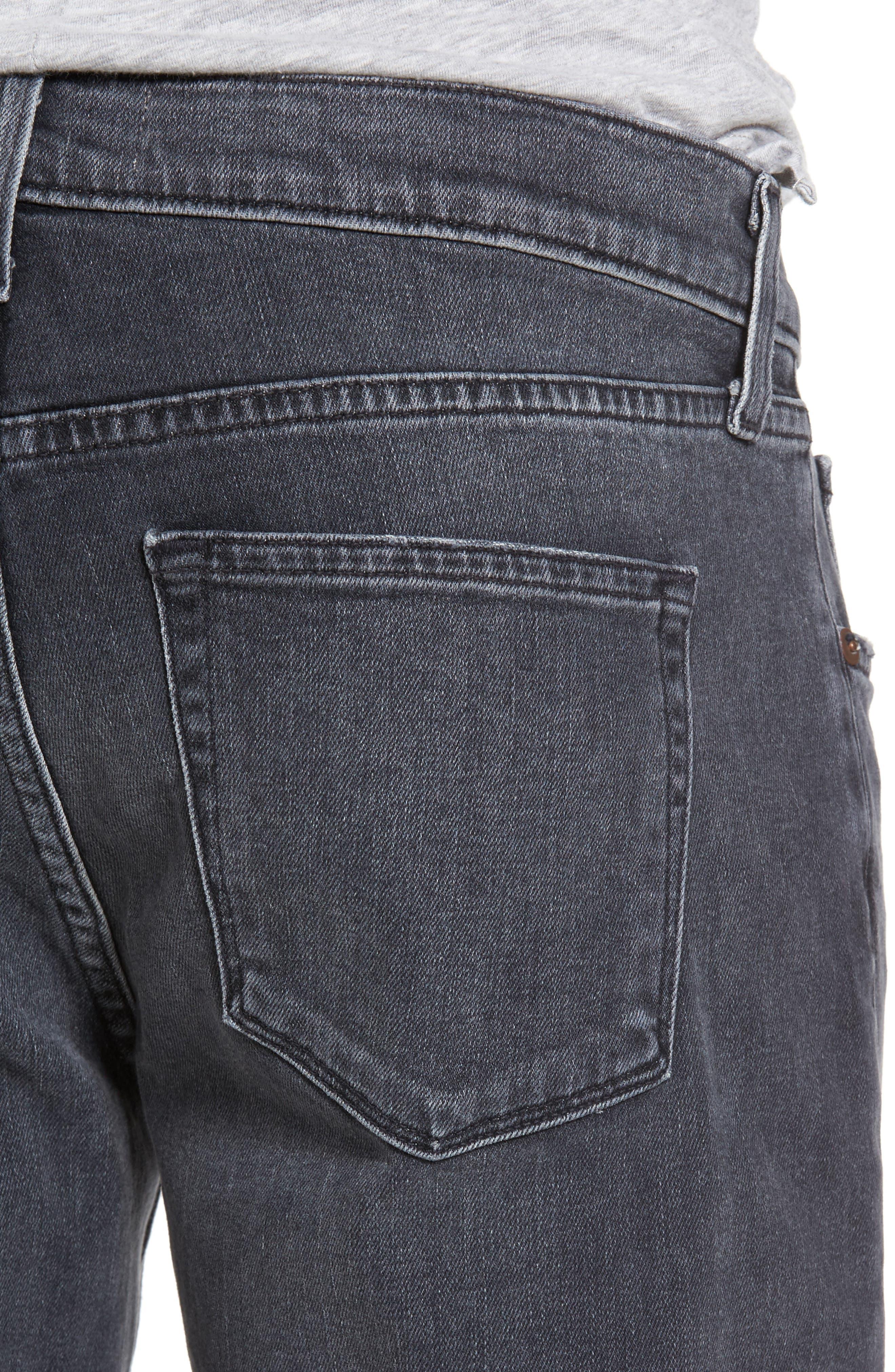 Tyler Slim Jeans,                             Alternate thumbnail 4, color,                             400