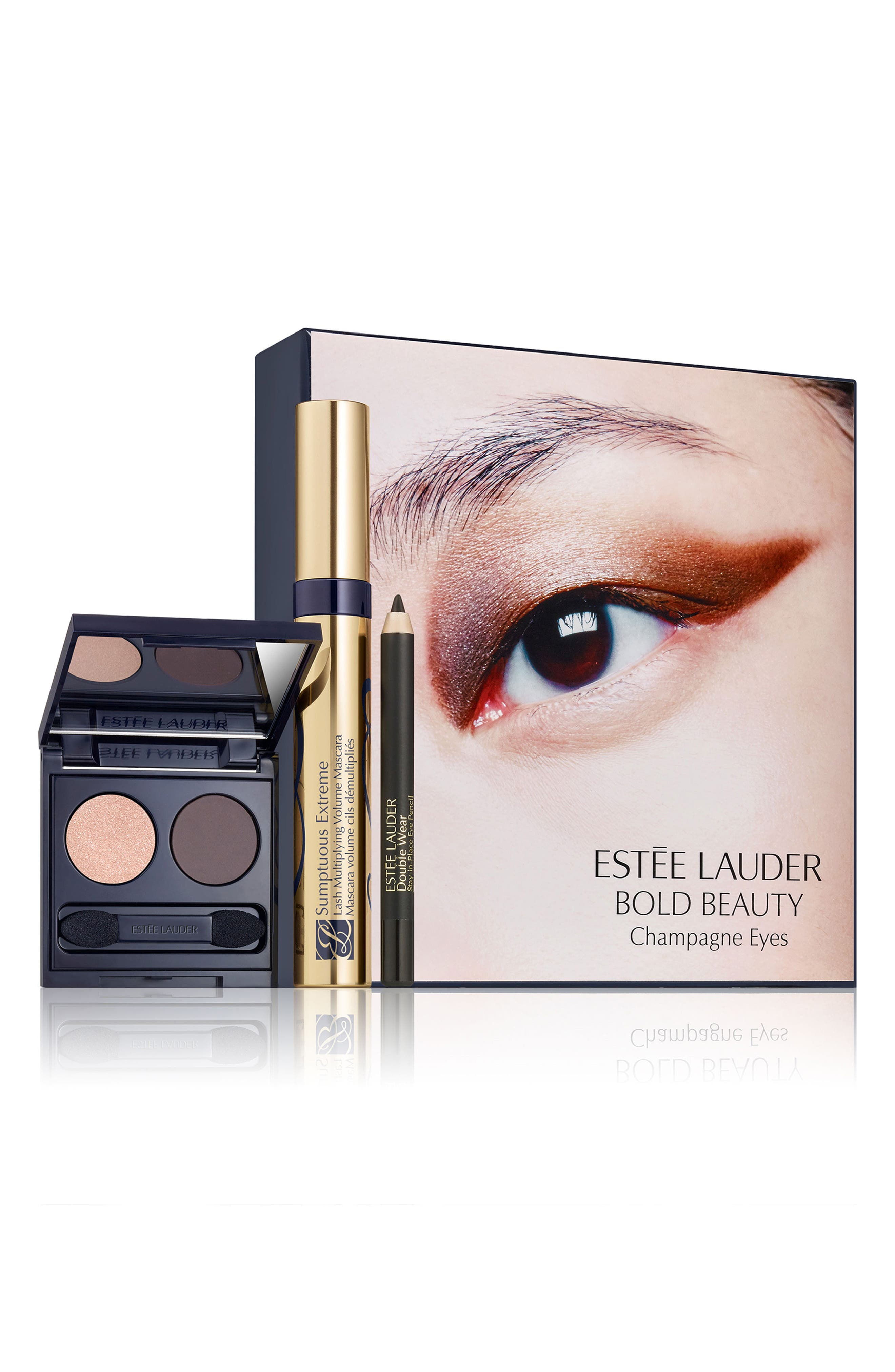 Estee Lauder Bold Beauty Champagne Eyes Set - No Color