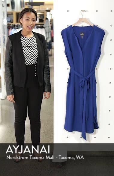 Gauzy Crepe Shirtdress, sales video thumbnail