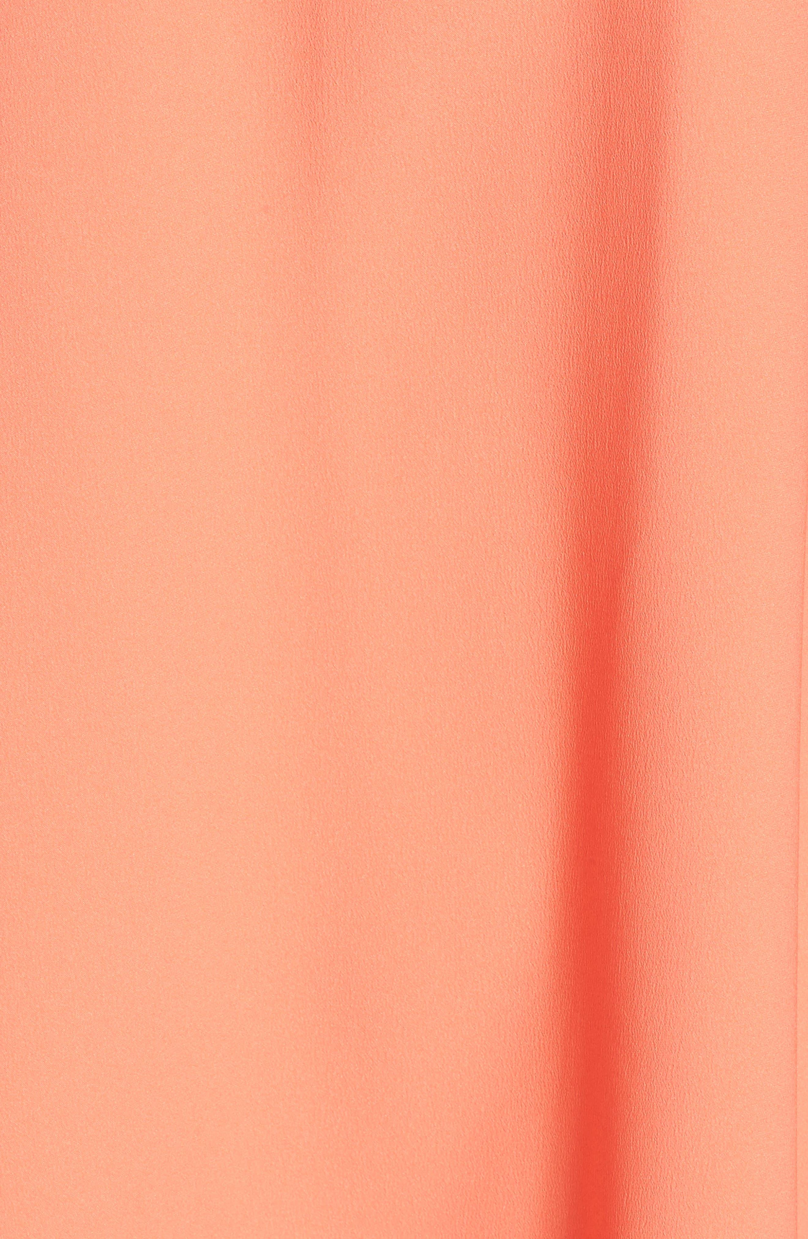 Off the Shoulder Crepe Dress,                             Alternate thumbnail 29, color,