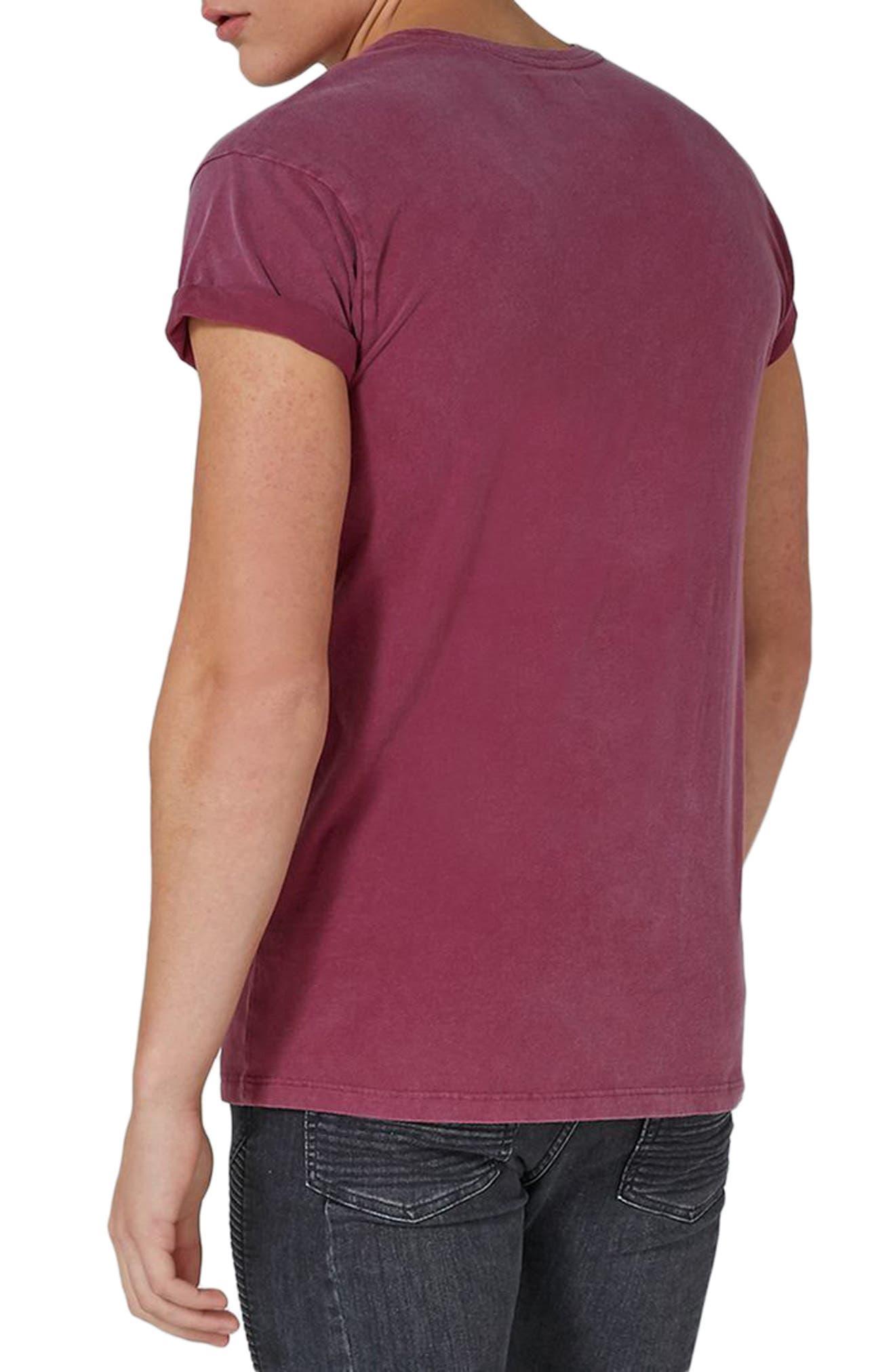 Acid Wash Classic Fit T-Shirt,                             Alternate thumbnail 4, color,