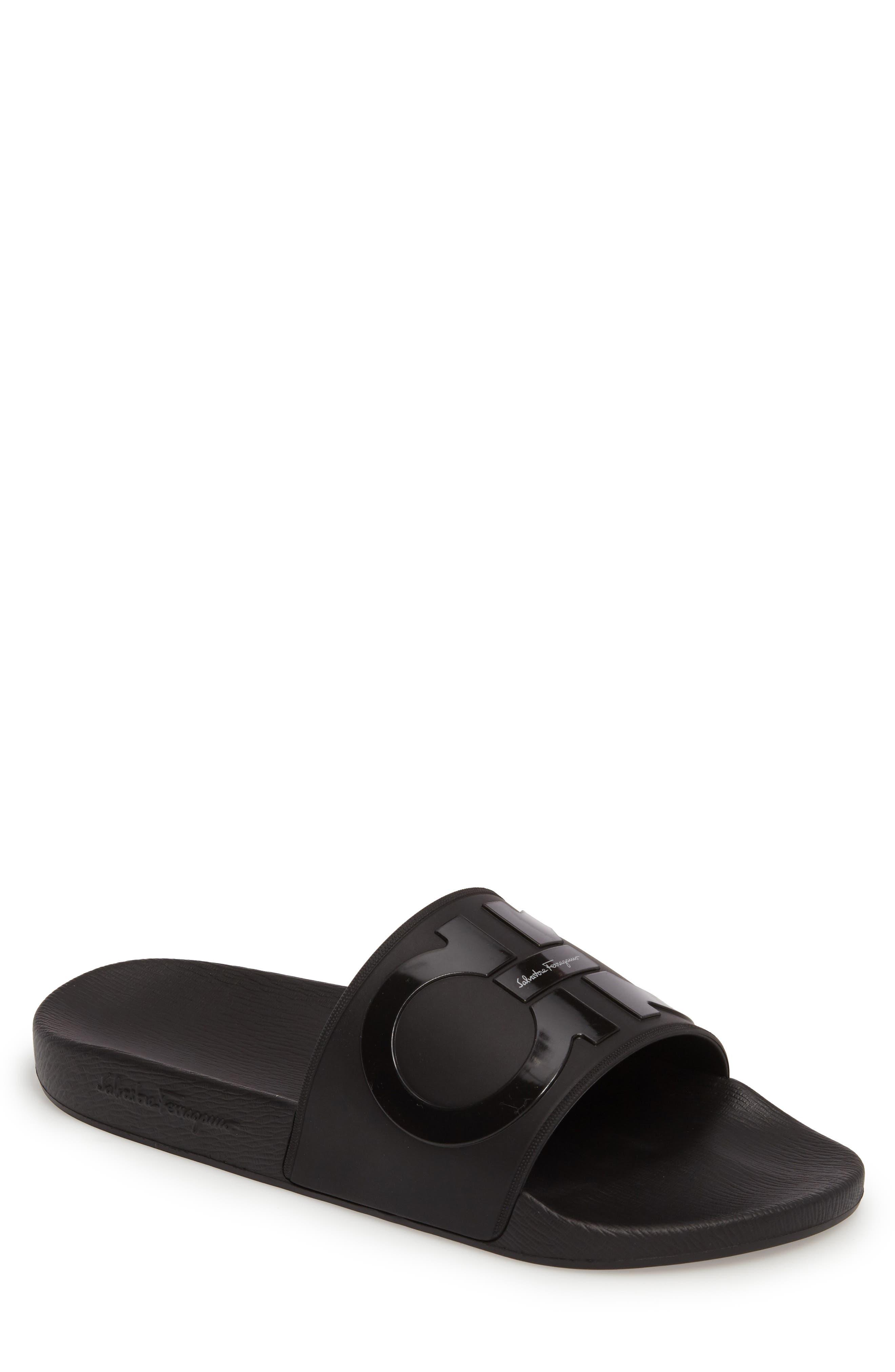 Groove 2 Slide Sandal,                         Main,                         color, NERO/ NERO
