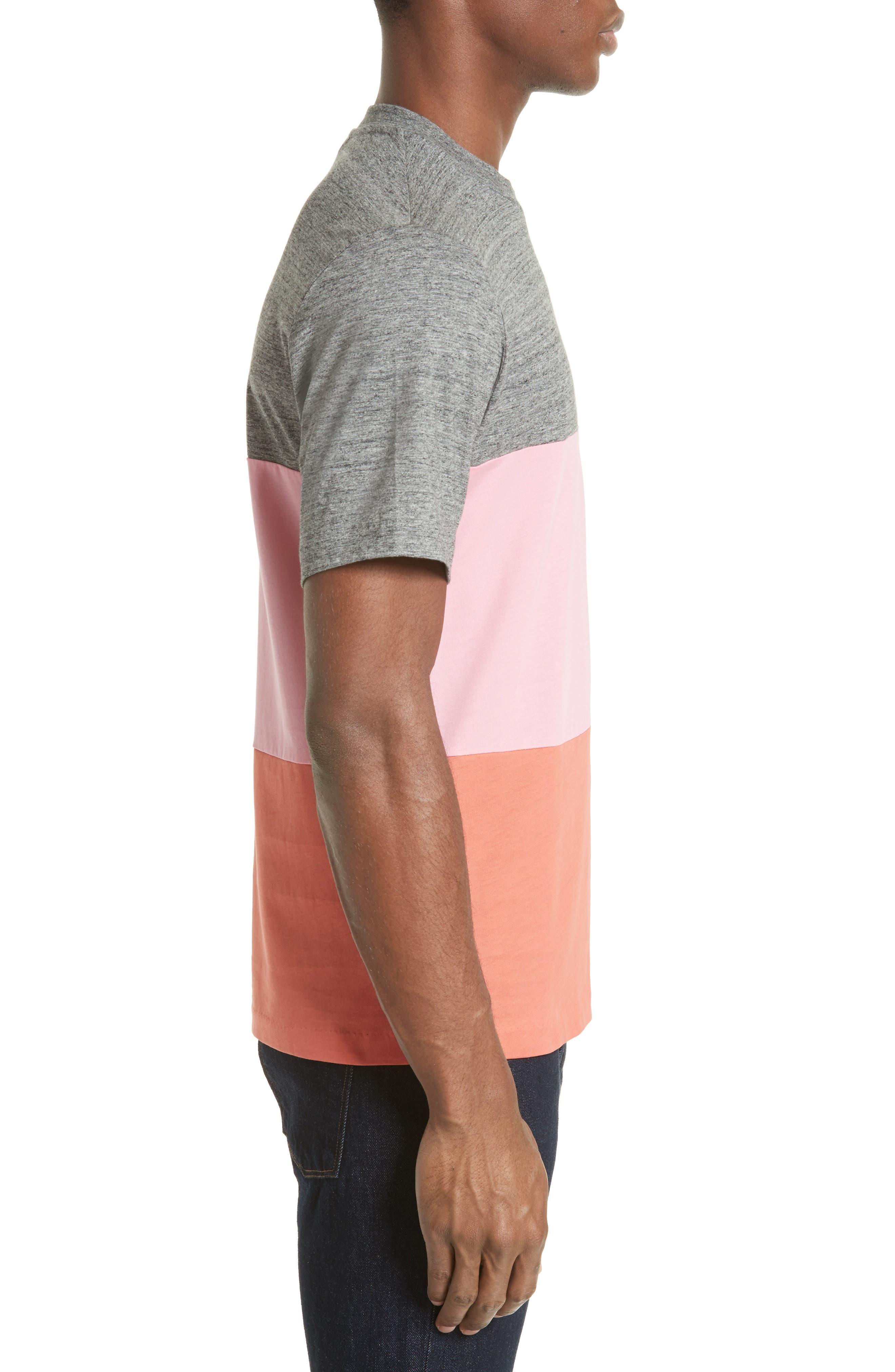 Bold Stripe T-Shirt,                             Alternate thumbnail 3, color,