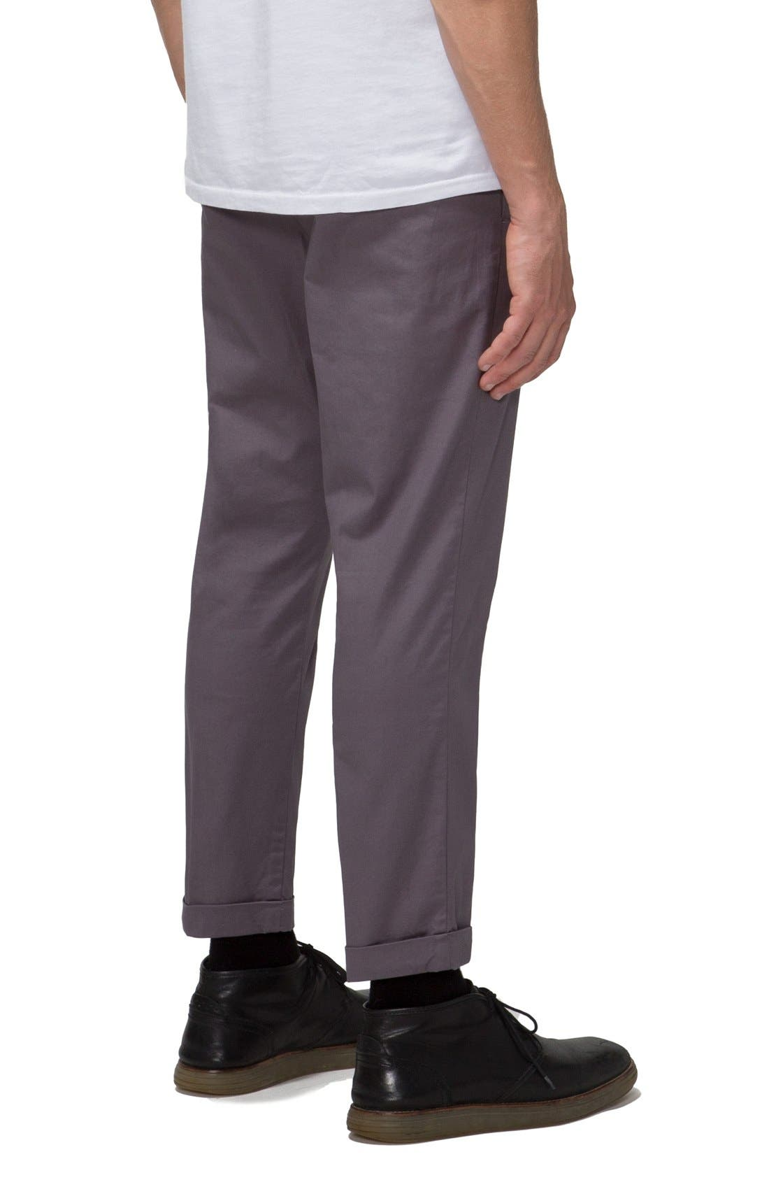 'Arroyo' Crop Stretch Chinos,                             Alternate thumbnail 12, color,