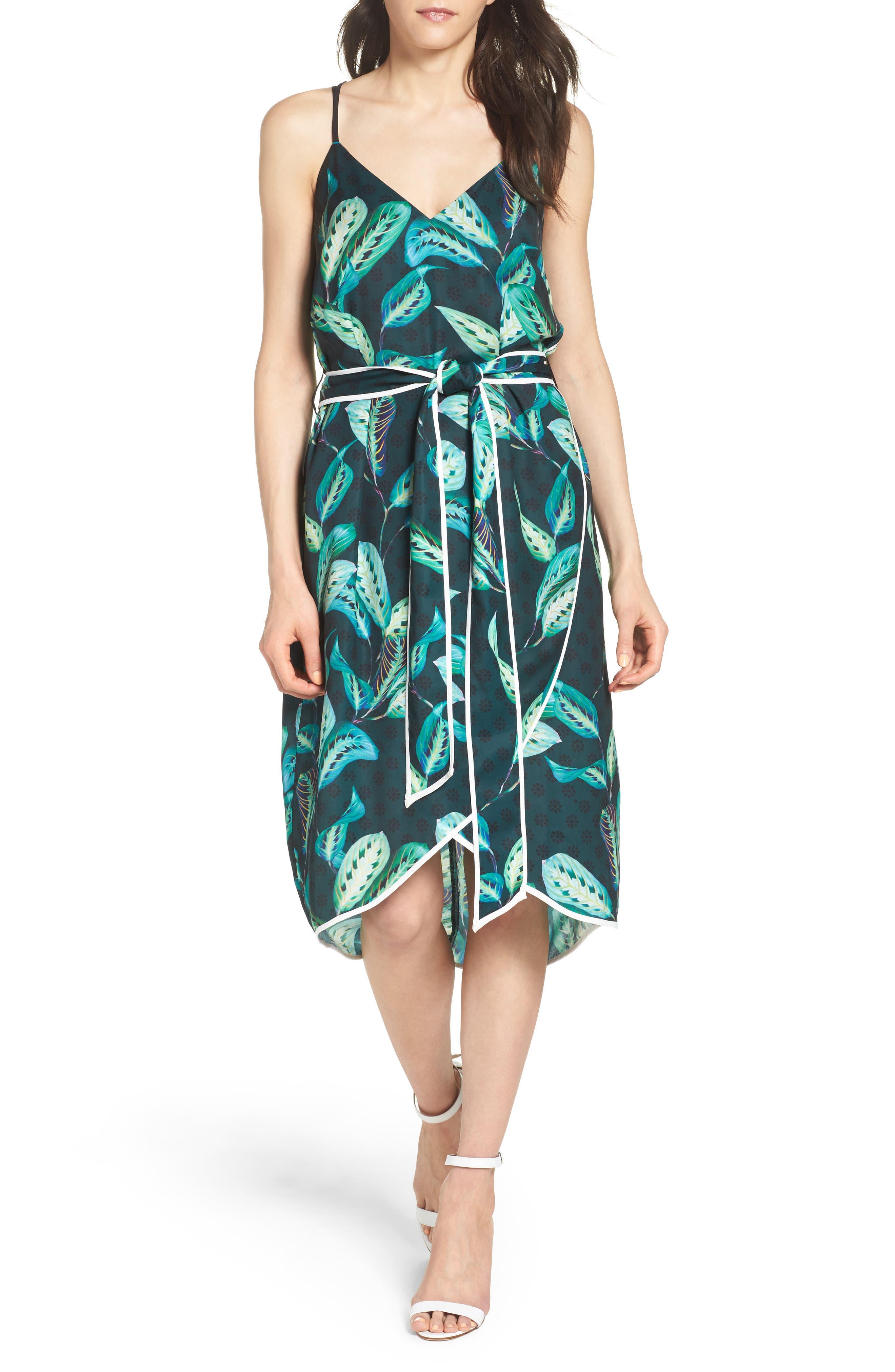 Midi Dress,                         Main,                         color, 300