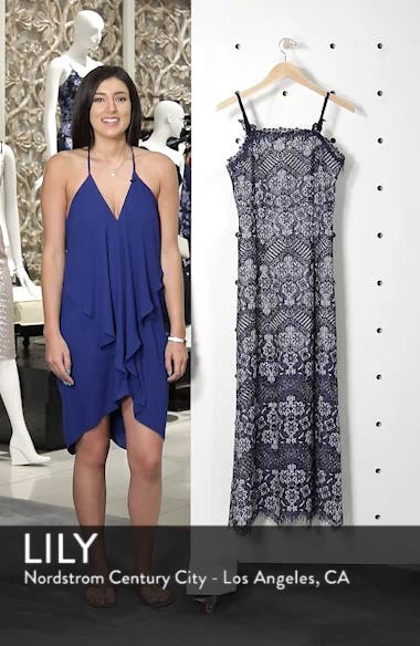 Daleyza Open Back Lace Gown, sales video thumbnail