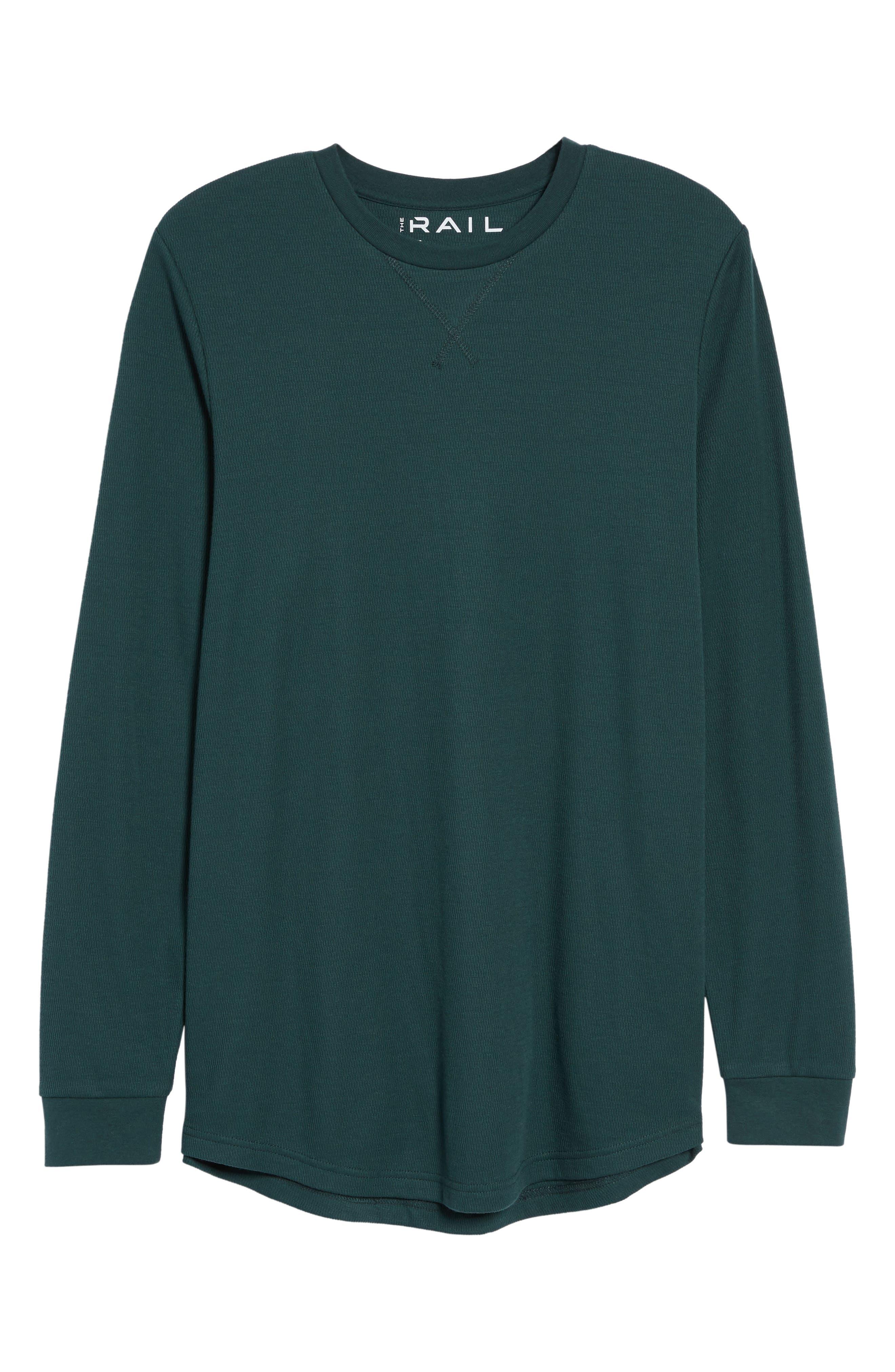 Longline Thermal T-Shirt,                             Alternate thumbnail 18, color,