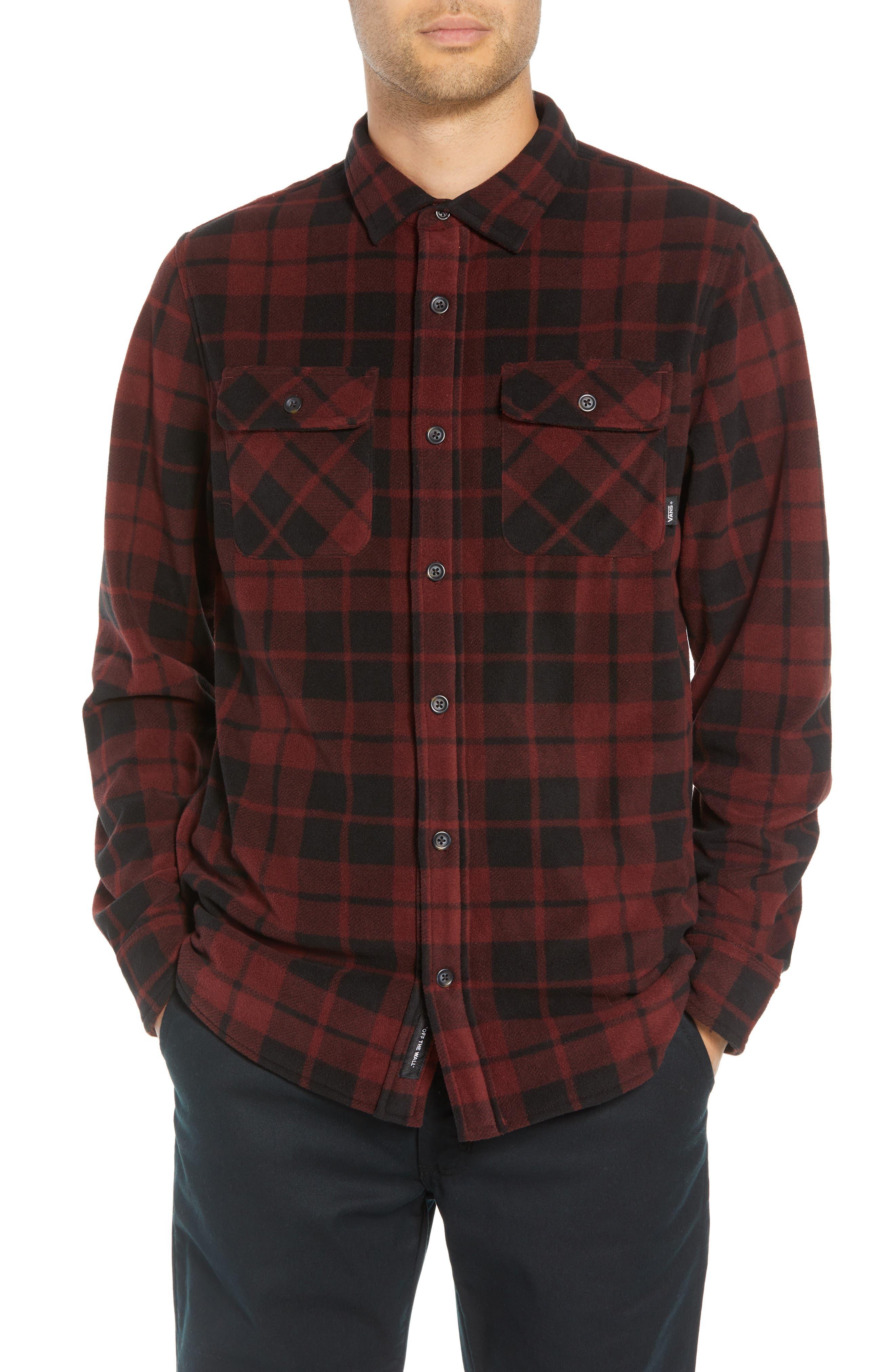 Hillcrest Fleece Shirt,                         Main,                         color, 930