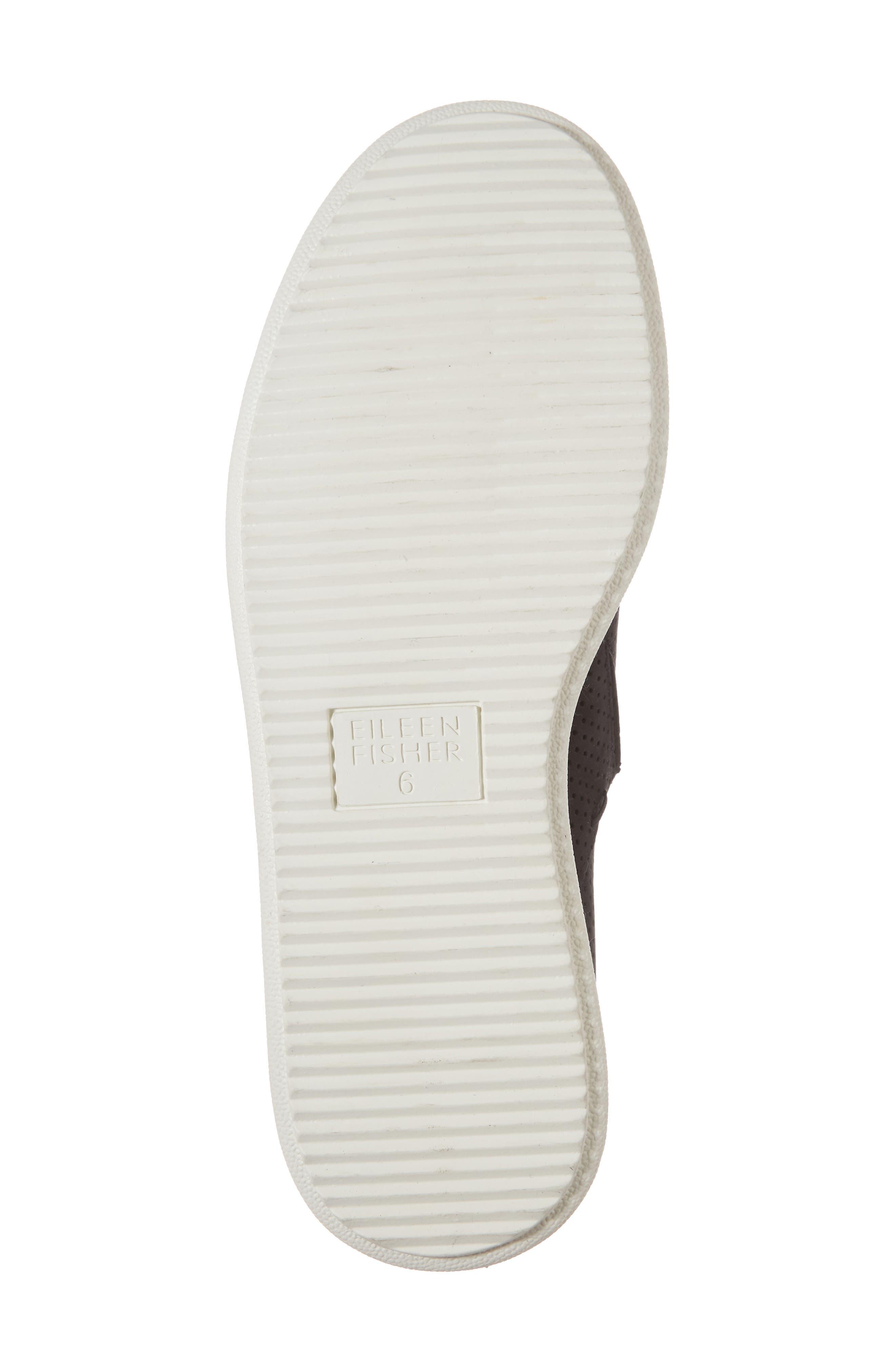 Panda Perforated Slip-On Sneaker,                             Alternate thumbnail 6, color,                             001