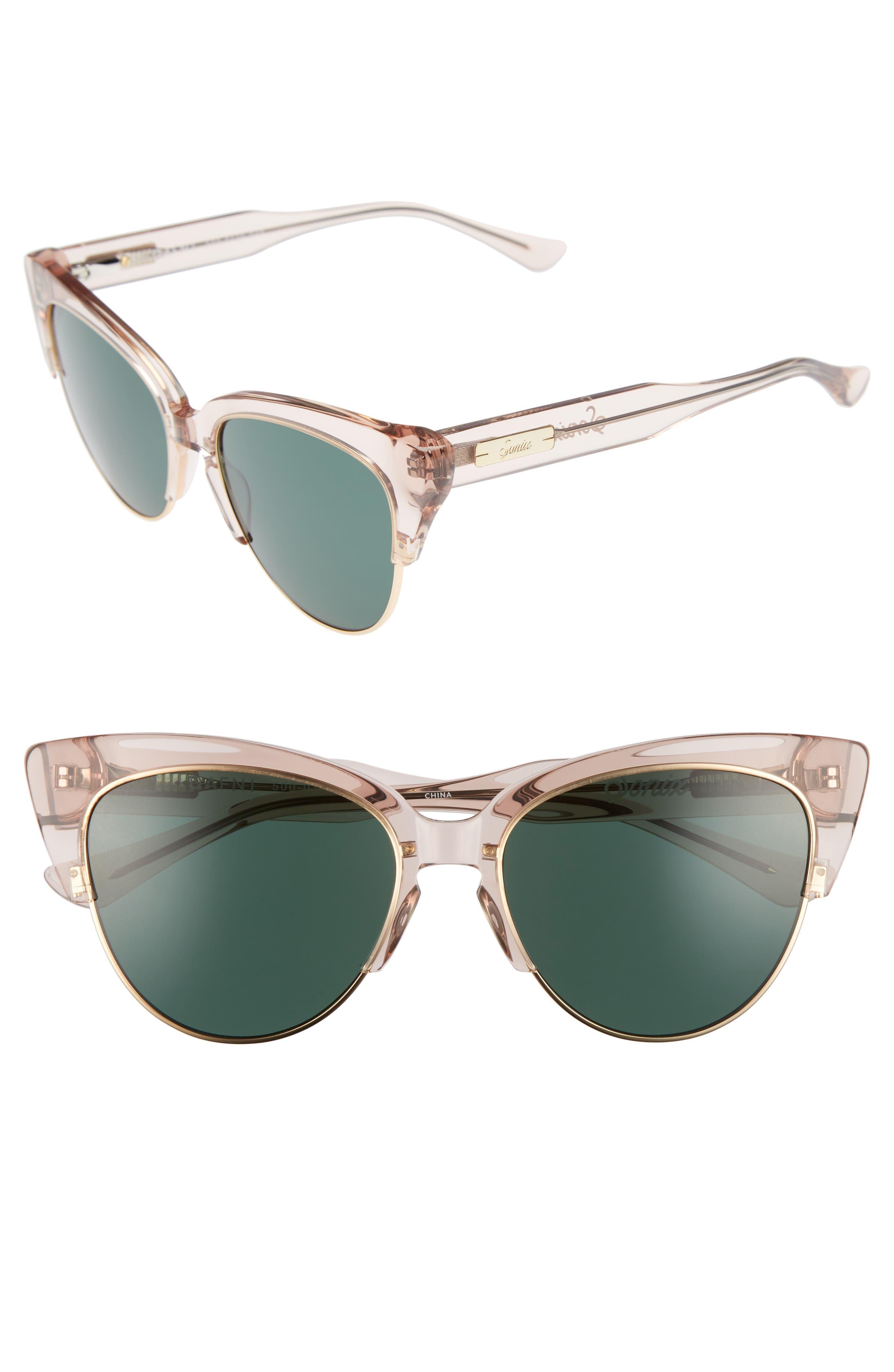 Dafni 56mm Gradient Cat Eye Sunglasses,                             Main thumbnail 3, color,