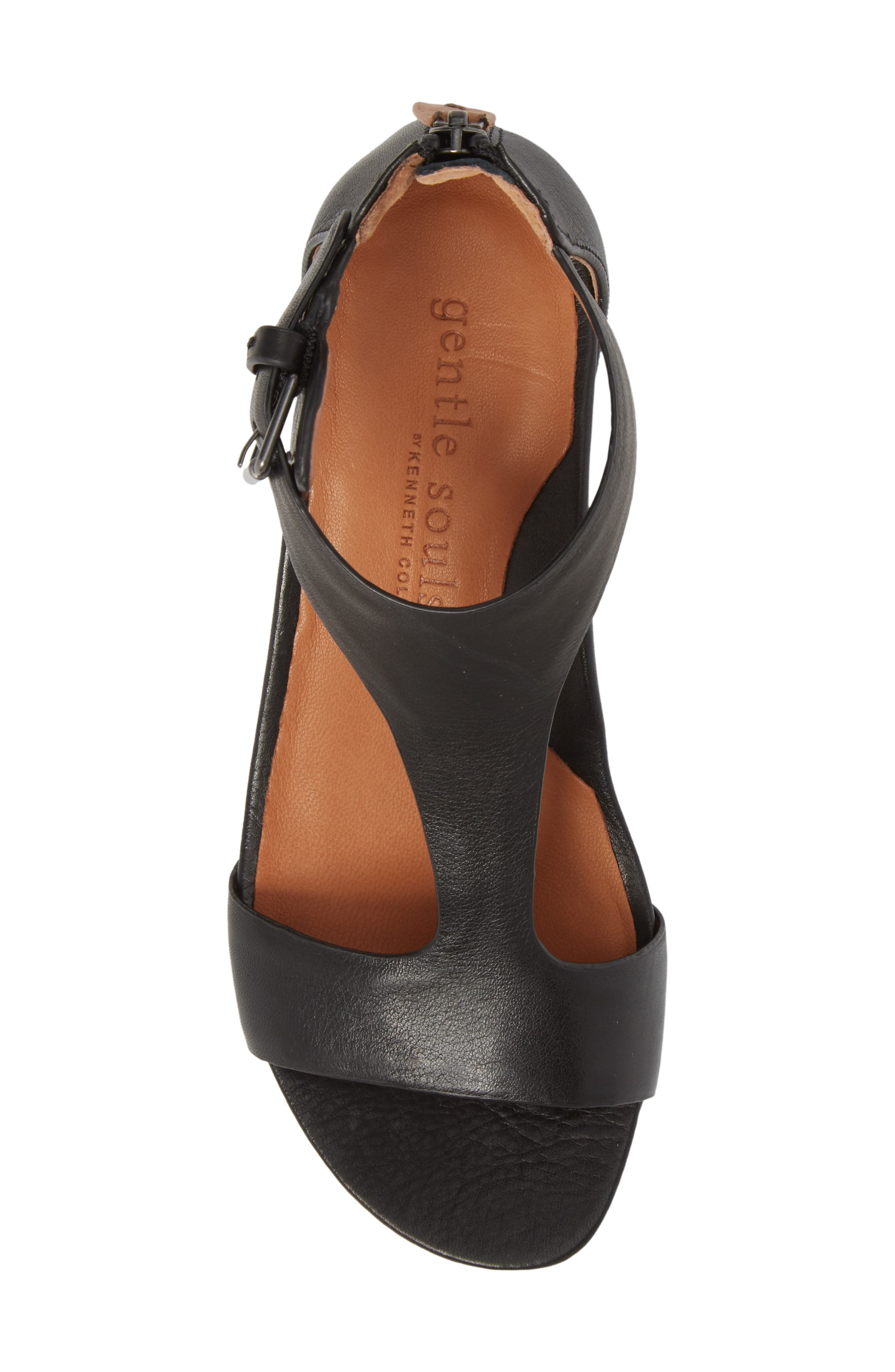 by Kenneth Cole Gisele Wedge Sandal,                             Alternate thumbnail 5, color,                             001
