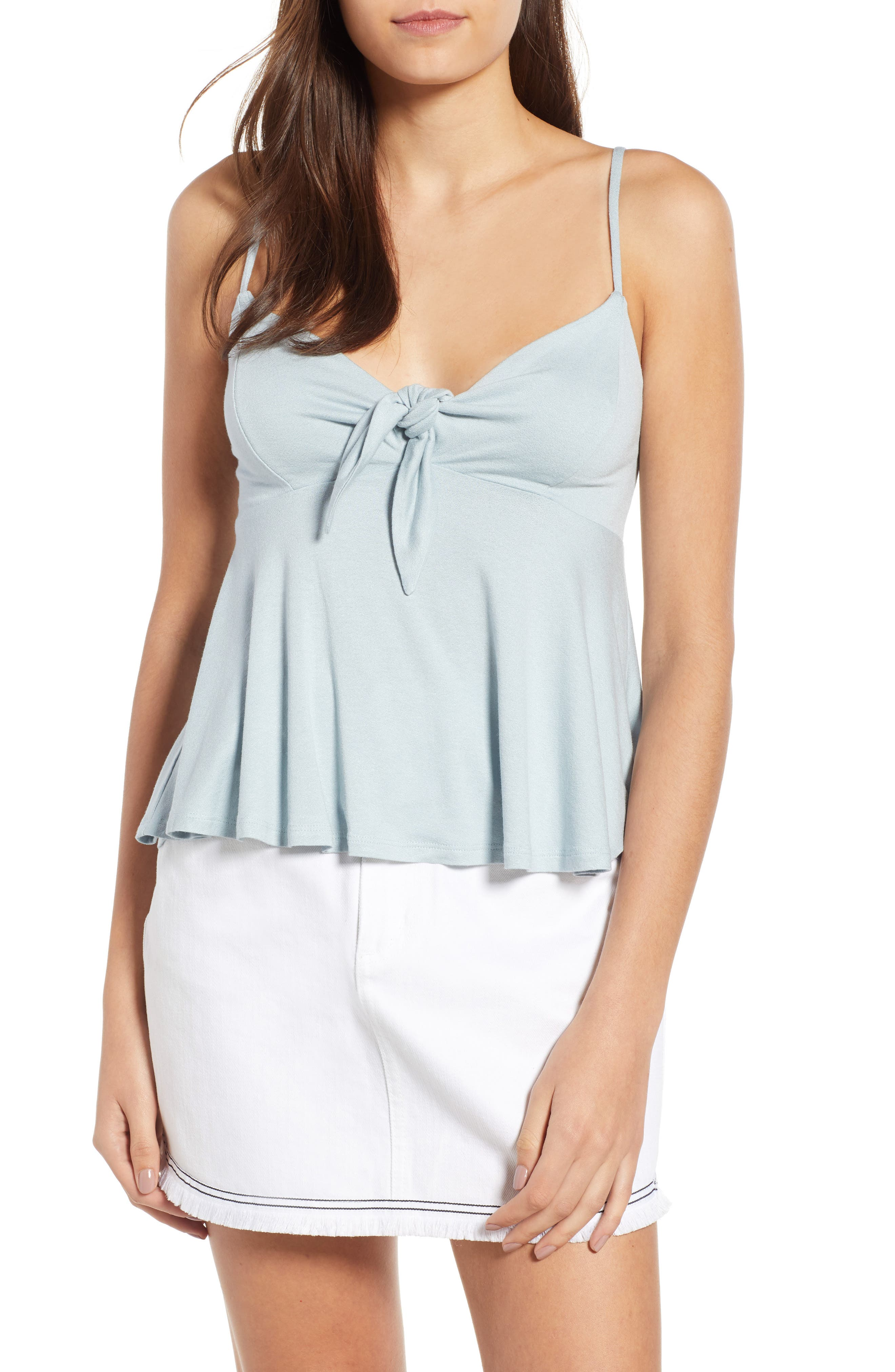 Knot Front Camisole,                             Main thumbnail 1, color,                             466