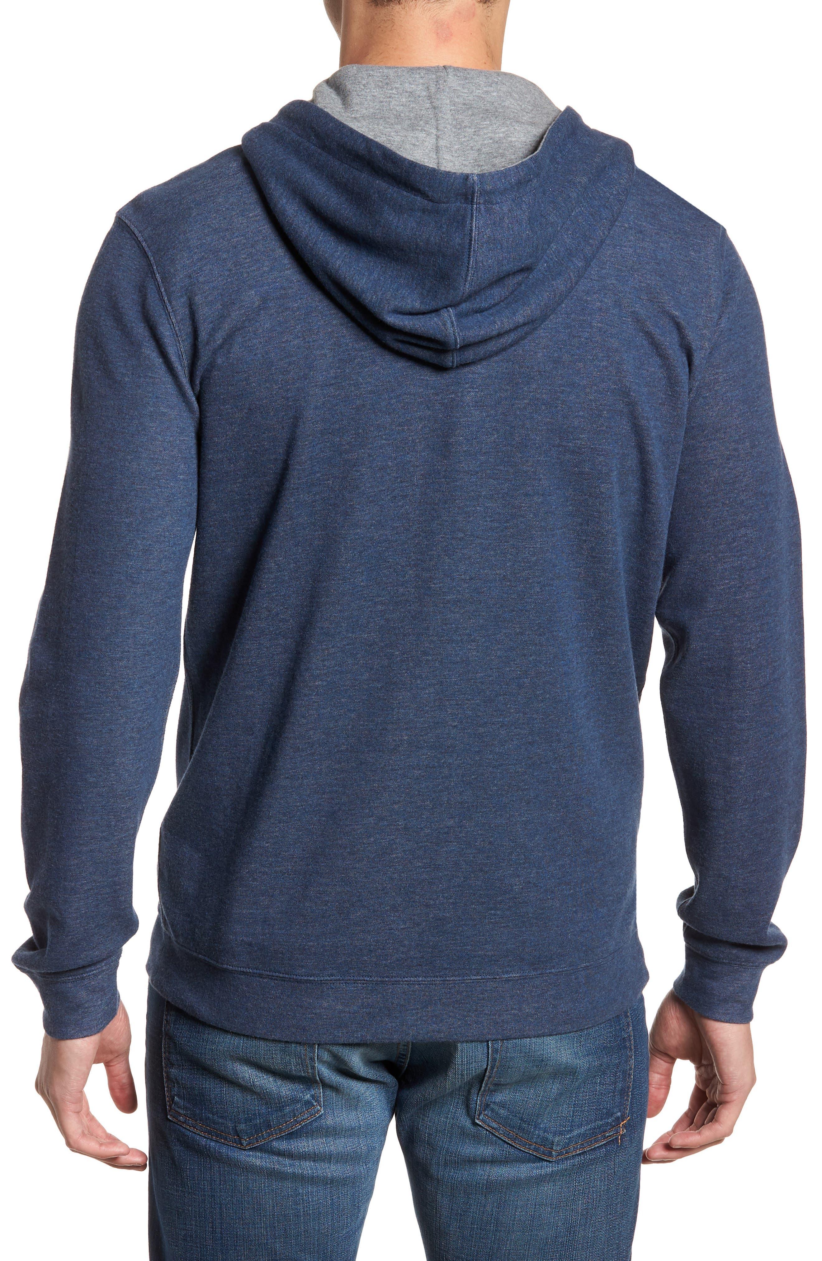 Layton Regular Fit Pullover Hoodie,                             Alternate thumbnail 2, color,                             BLAZER