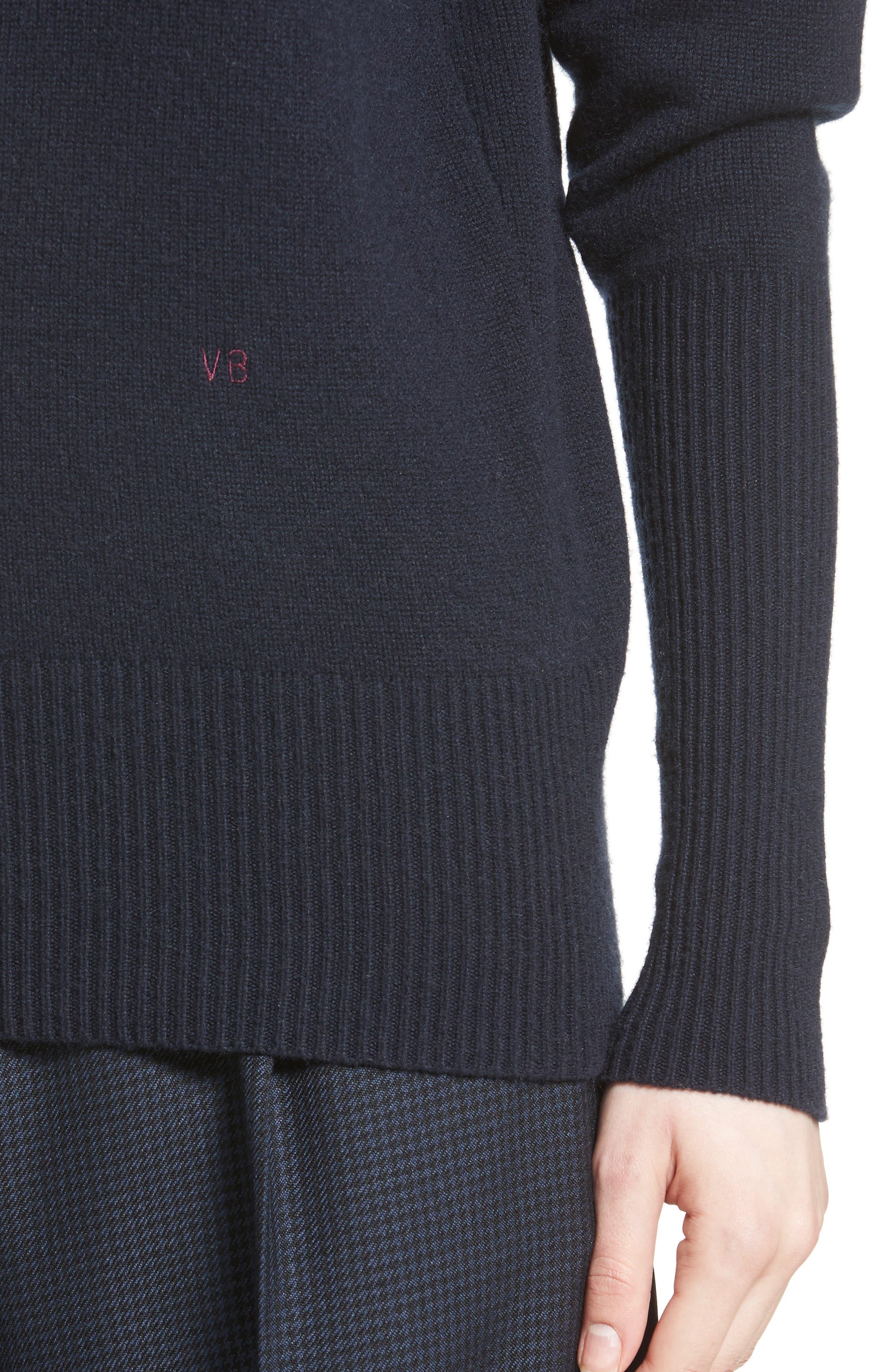 Cashmere Turtleneck Sweater,                             Alternate thumbnail 4, color,                             400
