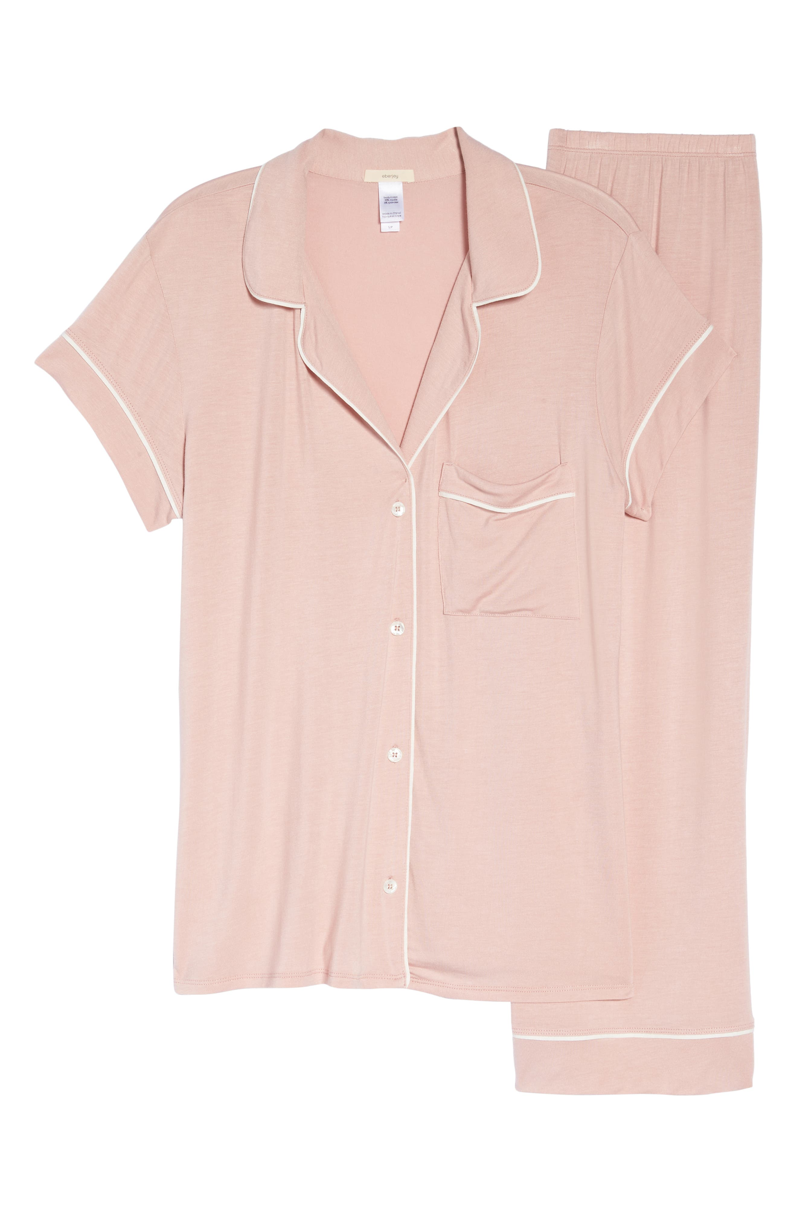 Gisele Crop Pajamas,                             Alternate thumbnail 18, color,