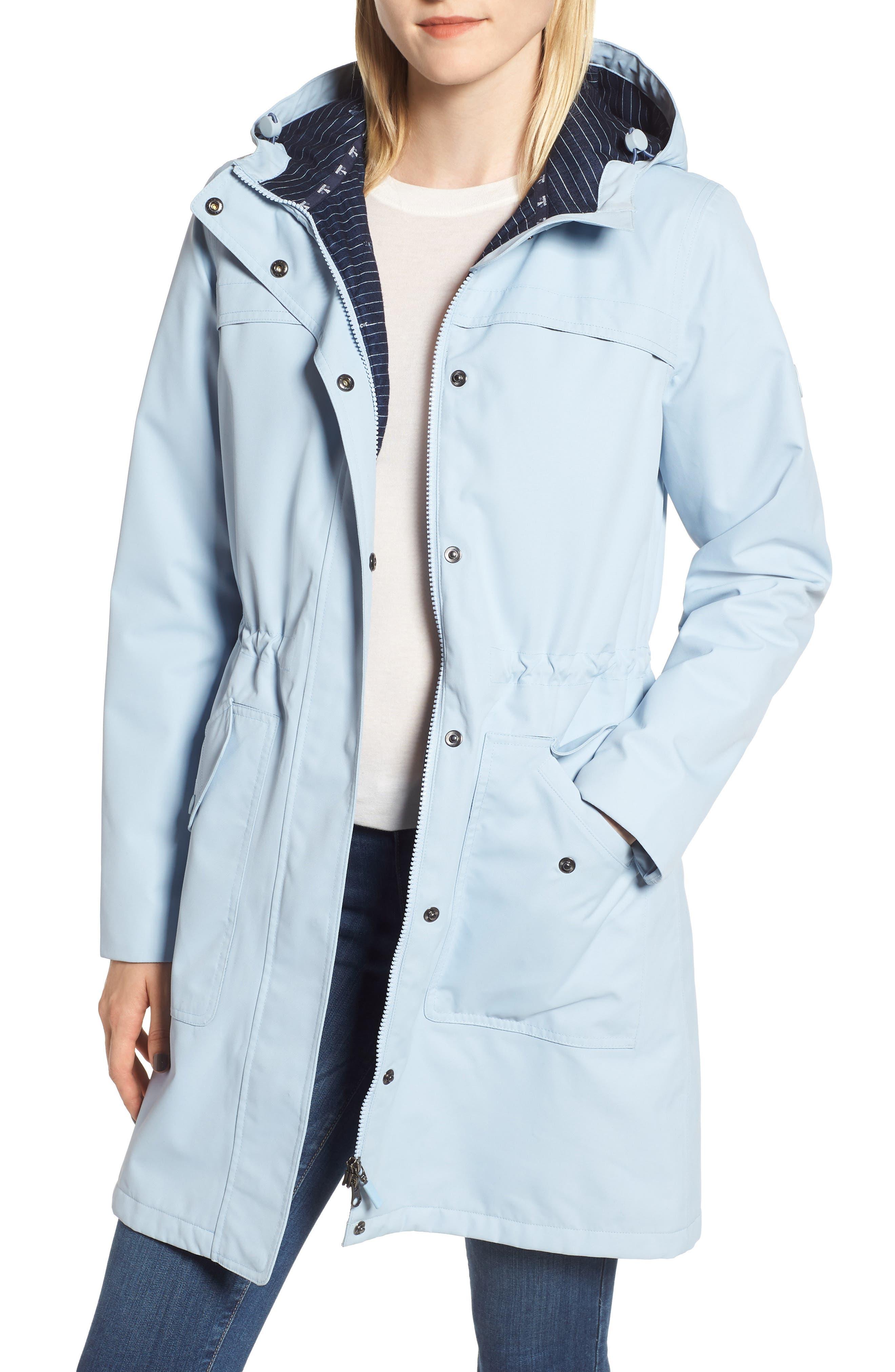 Barbour Seafield Waterproof Breathable Jacket, US / 10 UK - Blue