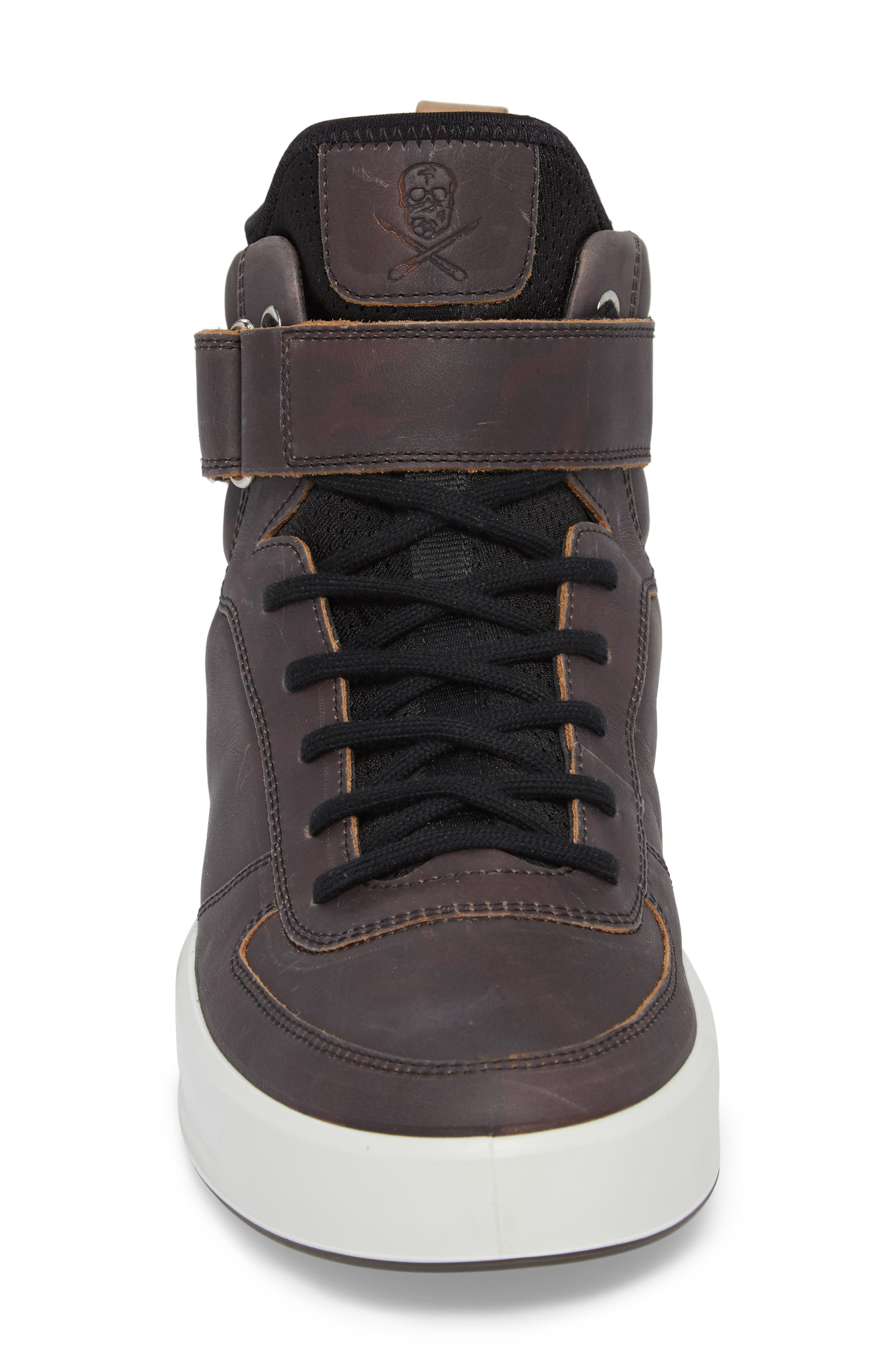 ECCO,                             Soft 8 Color Changing Sneaker Boot,                             Alternate thumbnail 5, color,                             002