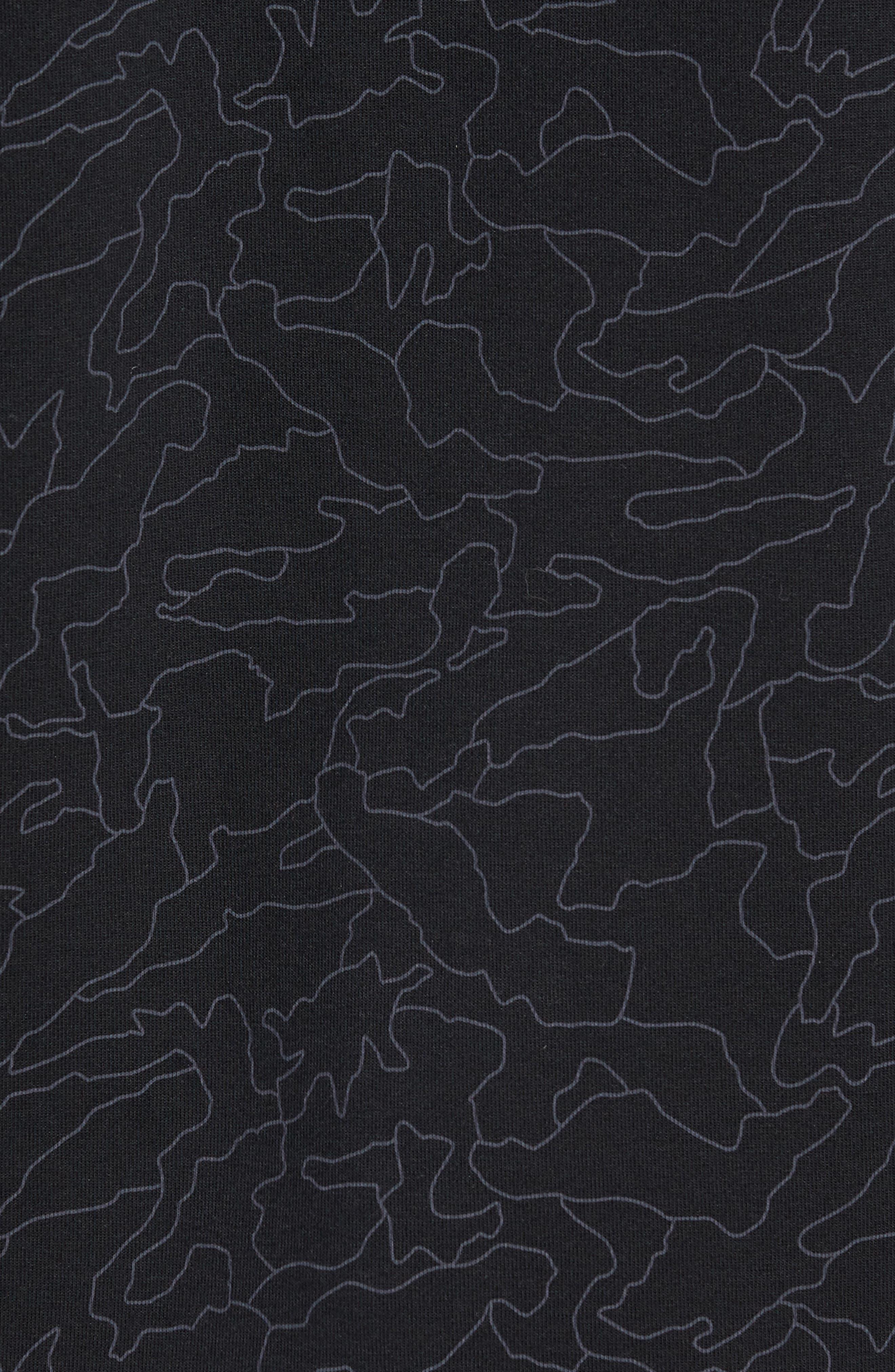 NEW BALANCE,                             247 Sport Hoodie,                             Alternate thumbnail 5, color,                             BLACK