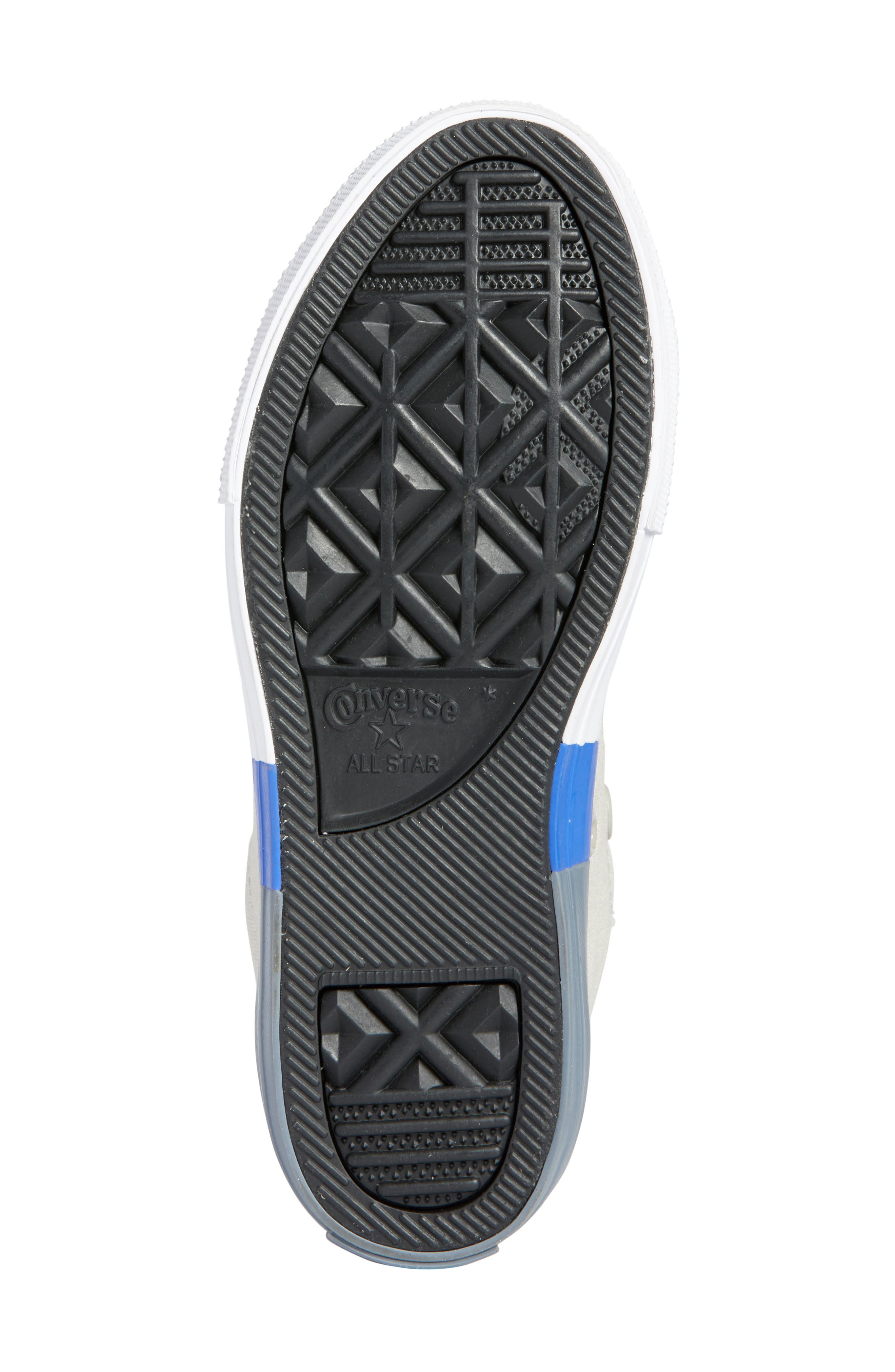 Chuck Taylor<sup>®</sup> All Star<sup>®</sup> Colorblock Street Sneaker,                             Alternate thumbnail 6, color,                             081