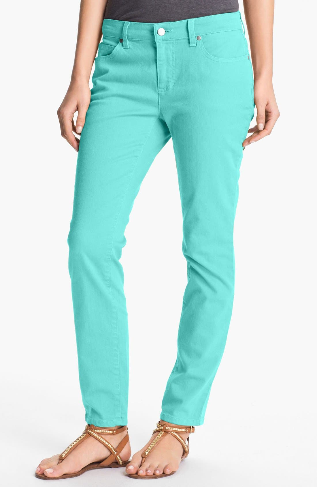Skinny Ankle Jeans,                             Main thumbnail 11, color,