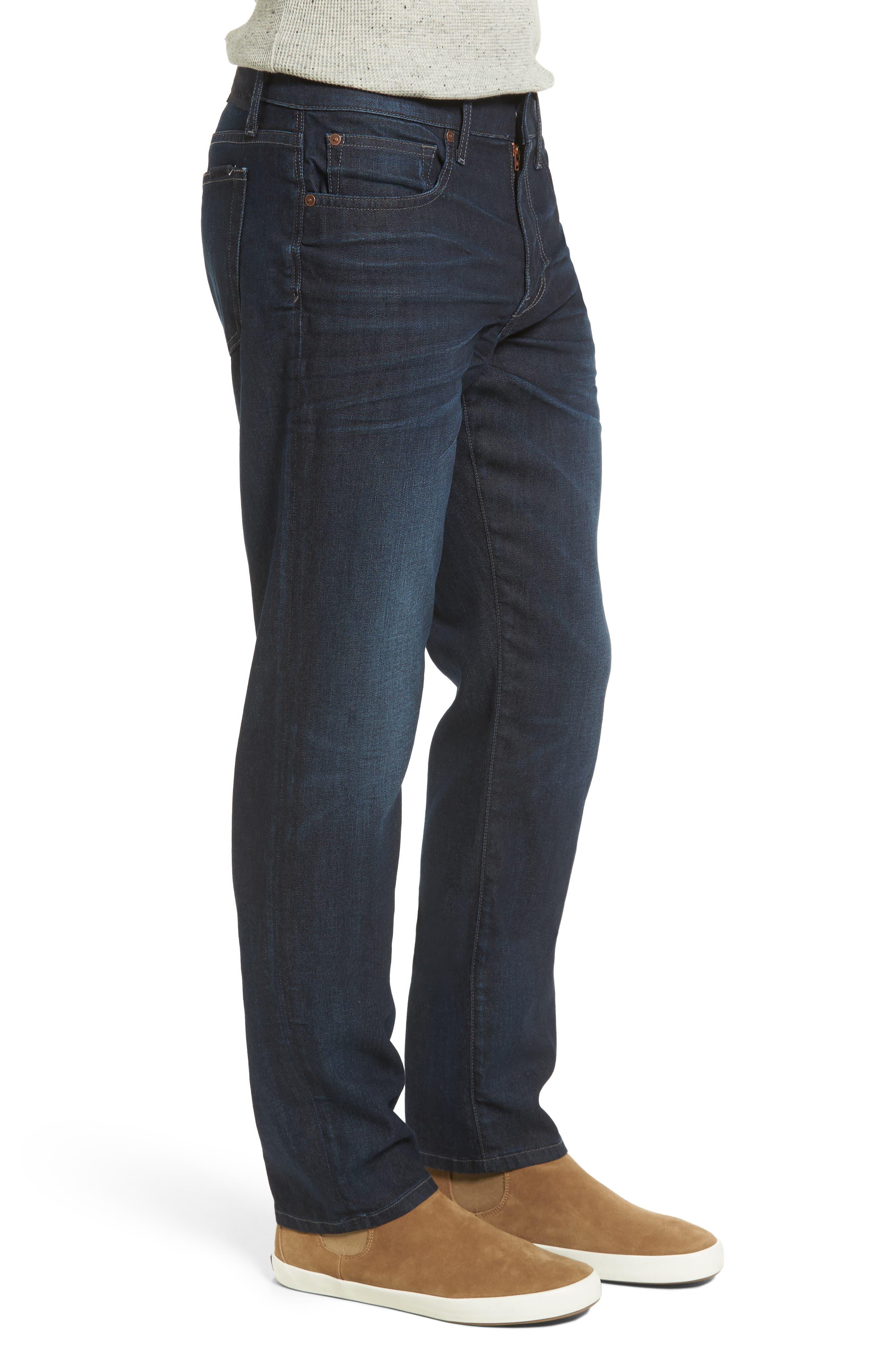 Brixton Slim Straight Leg Jeans,                             Alternate thumbnail 3, color,                             430