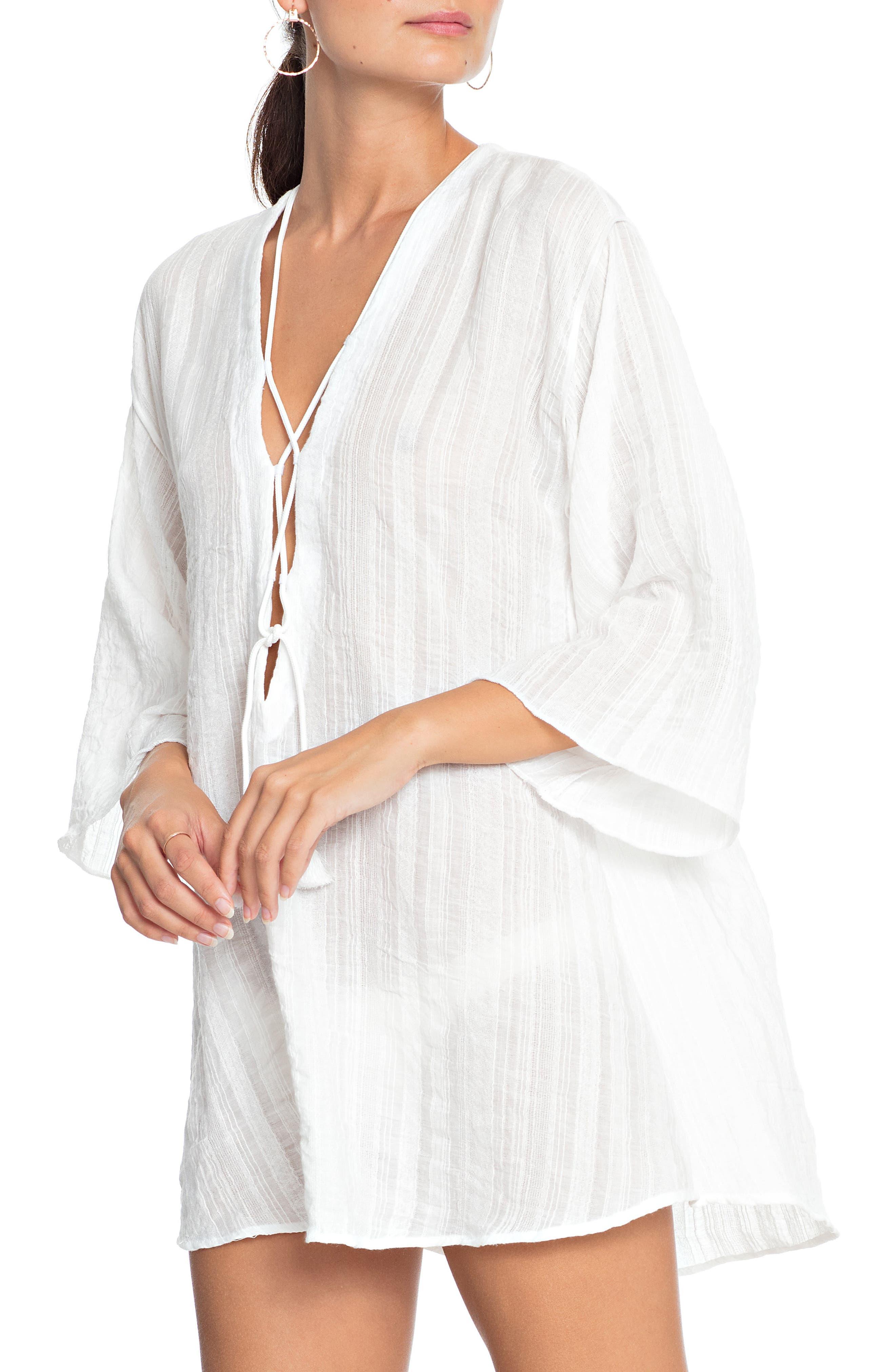 ROBIN PICCONE Michelle Tunic Cover-Up in White