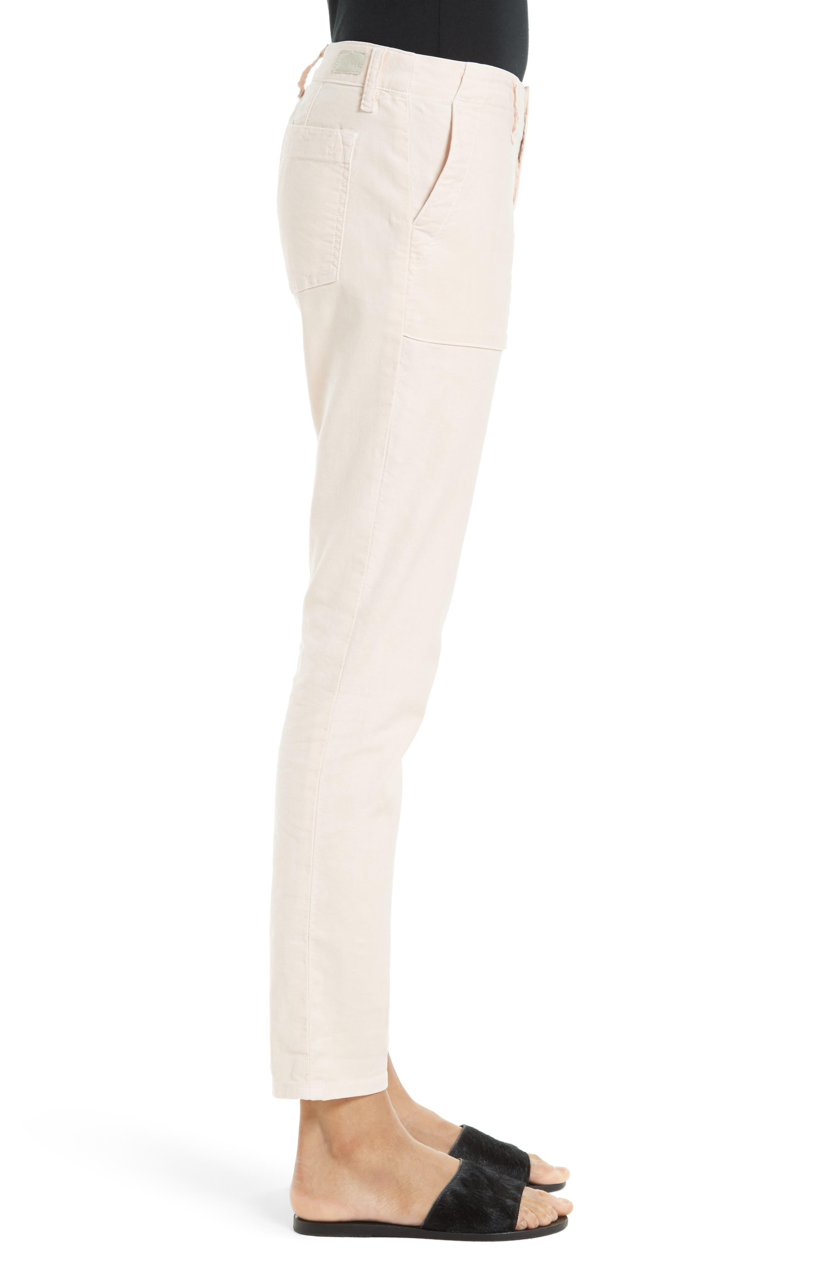Painter Cotton & Linen Pants,                             Alternate thumbnail 15, color,