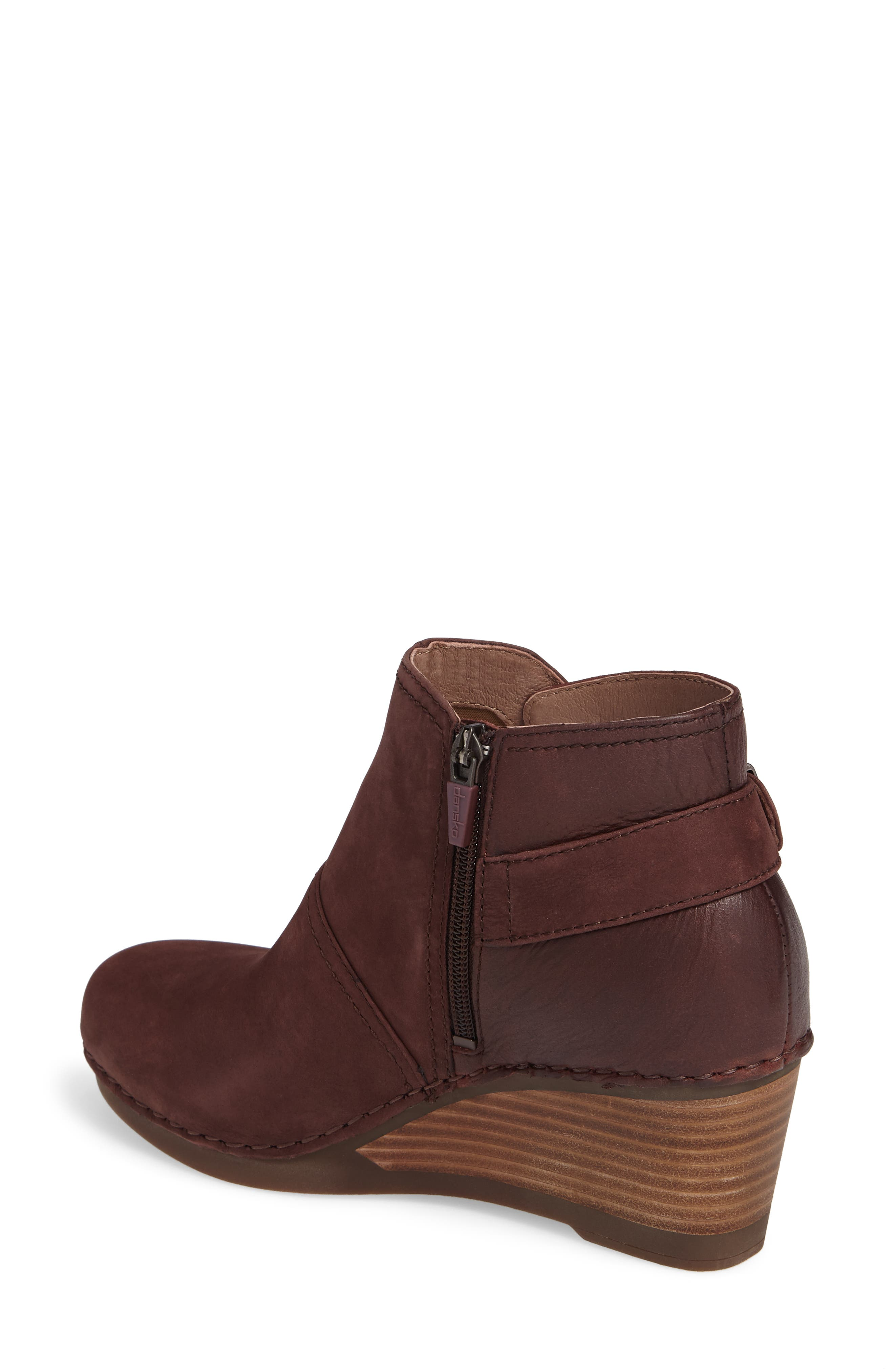 'Shirley' Wedge Bootie,                             Alternate thumbnail 10, color,